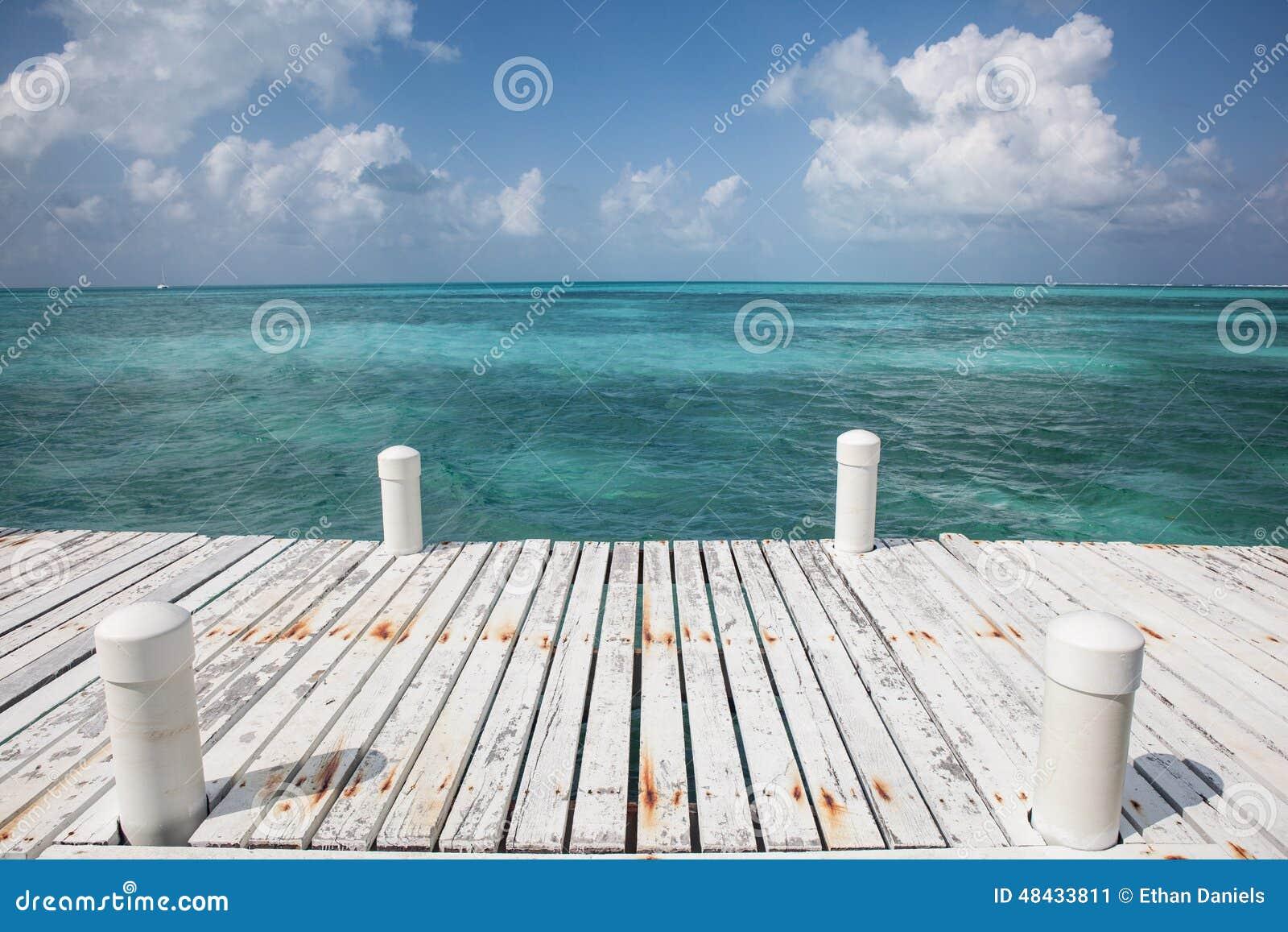 Dok en Caraïbische Zee