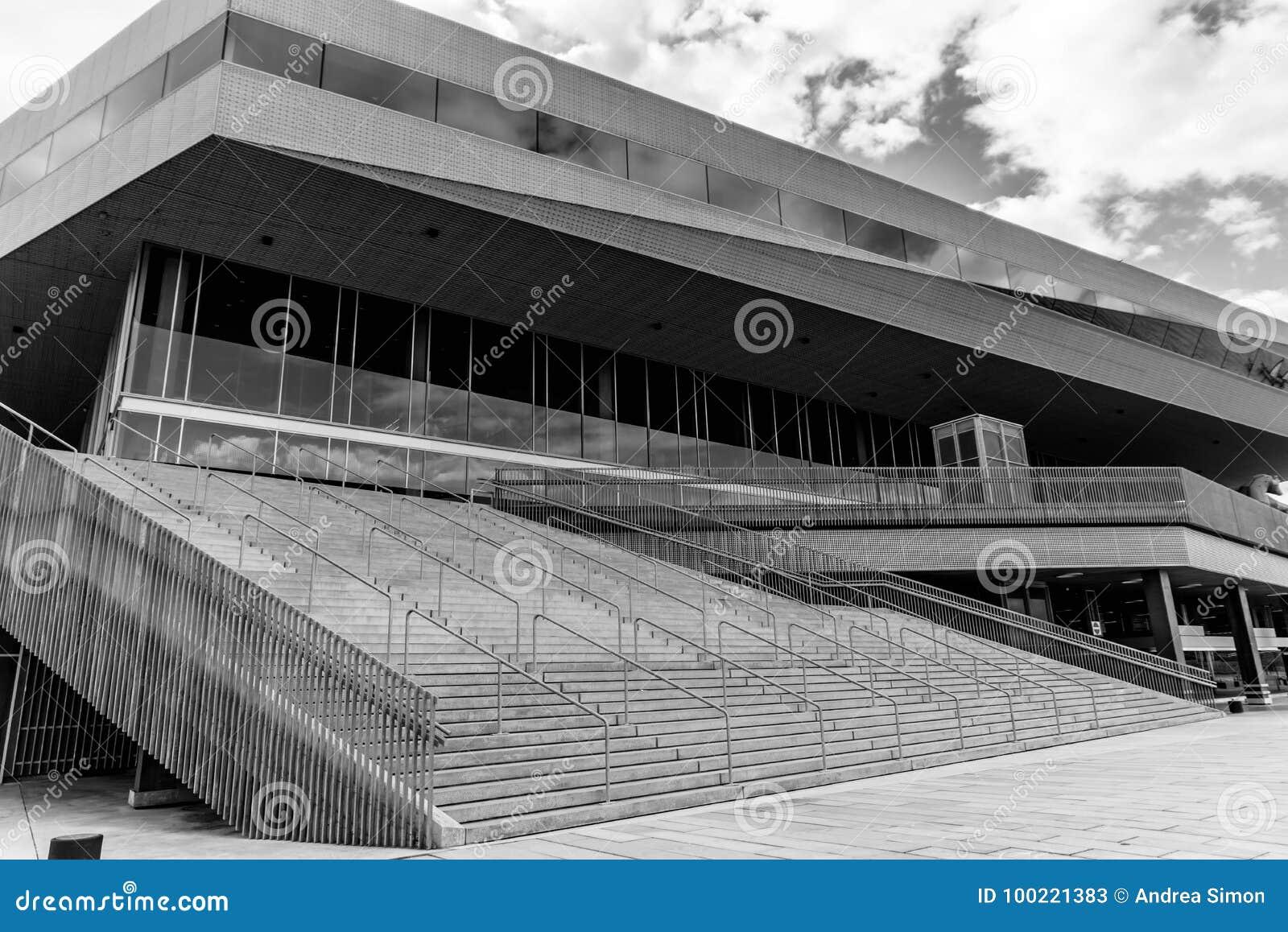 Modern Building Stock Image Image Of Buildings Aarhus 100221383
