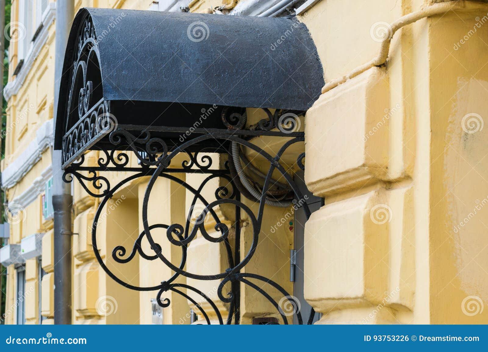 Dokonanego żelaza ganeczek w starym stylu