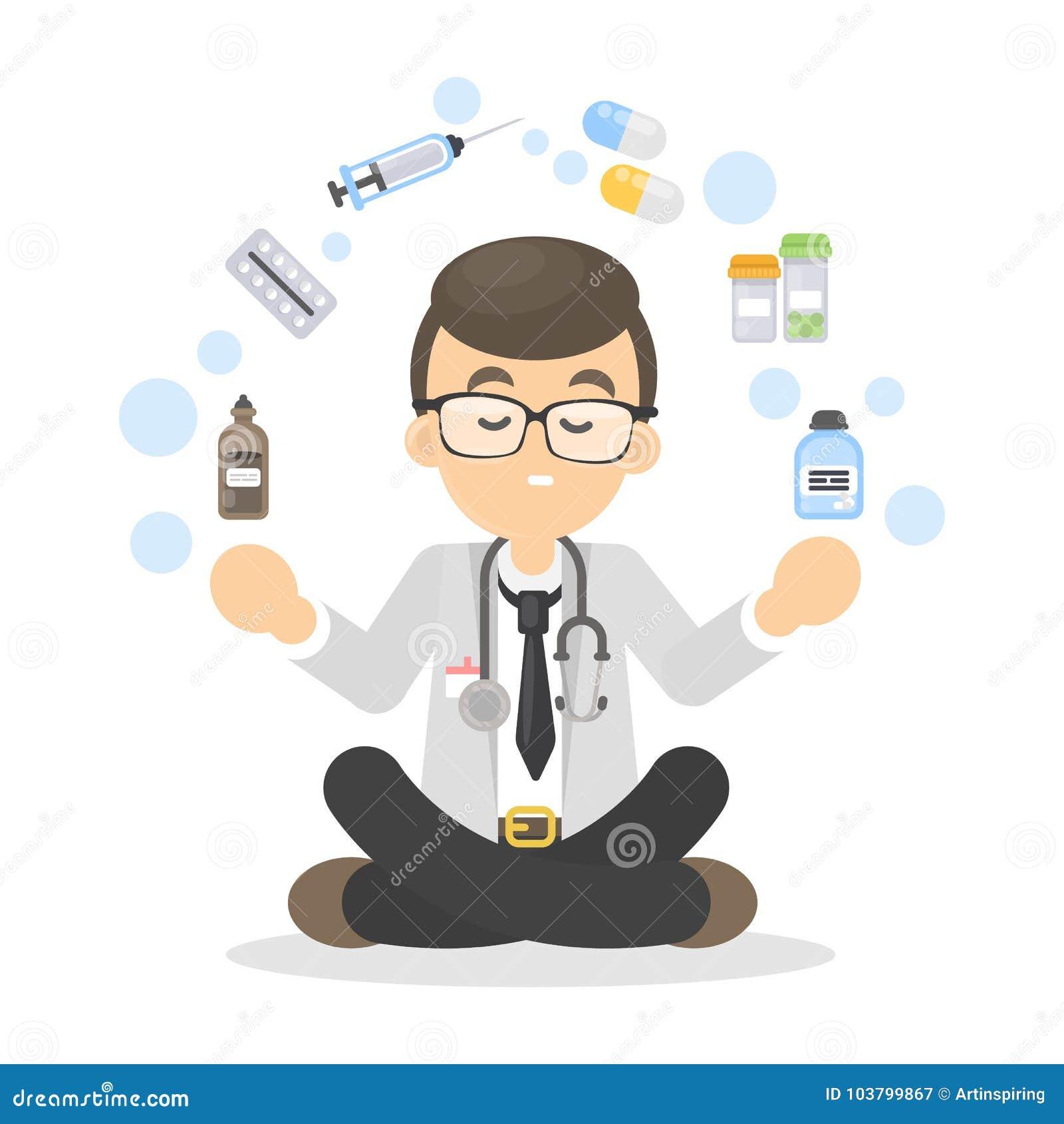Doktor isolerade pills