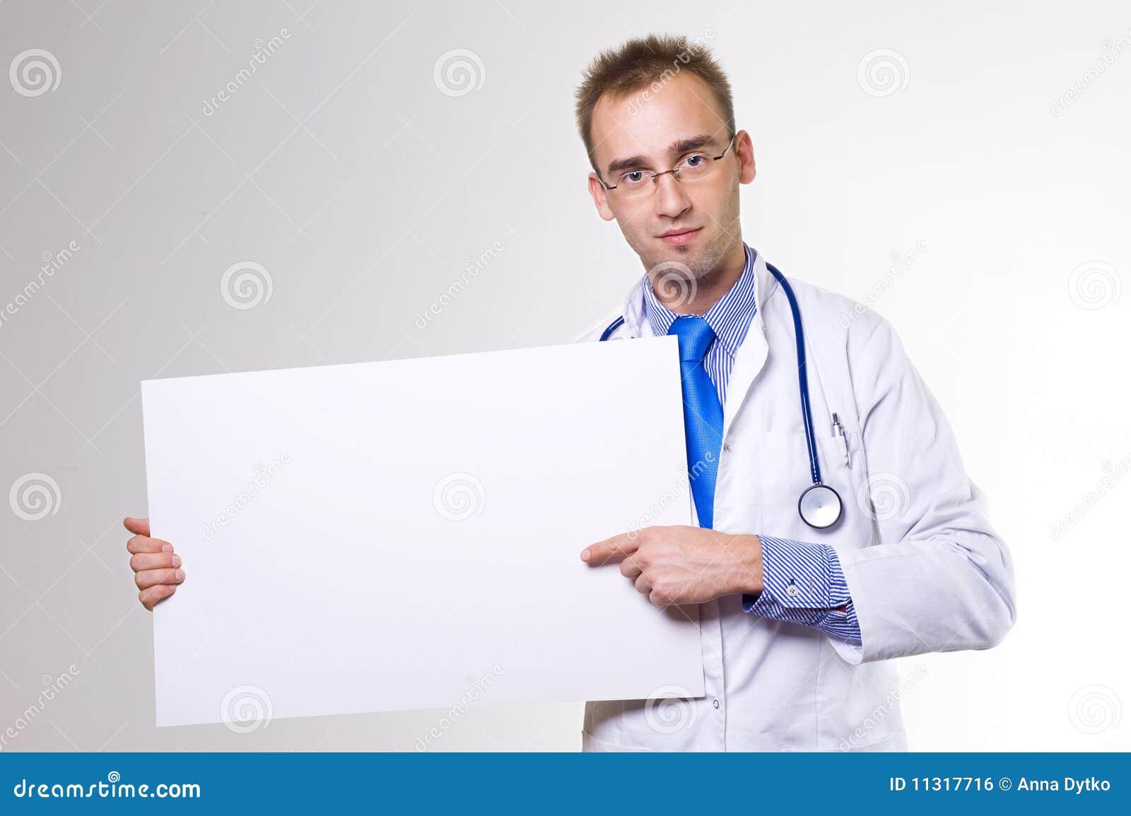 Doktor mit Vorstand