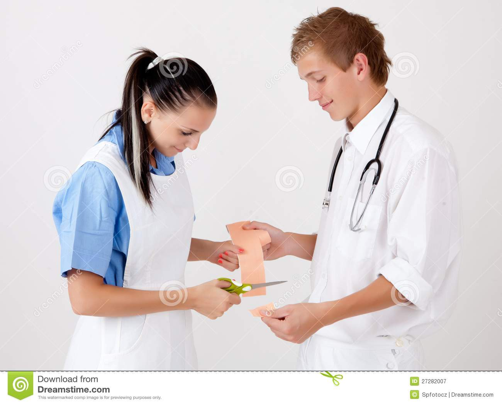 Doktor och sjuksköterska
