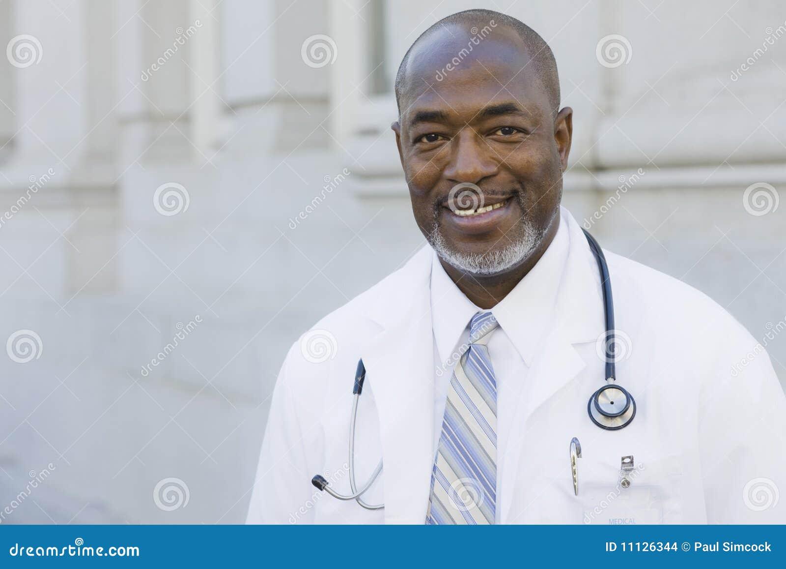 Doktor Smiling To Camera