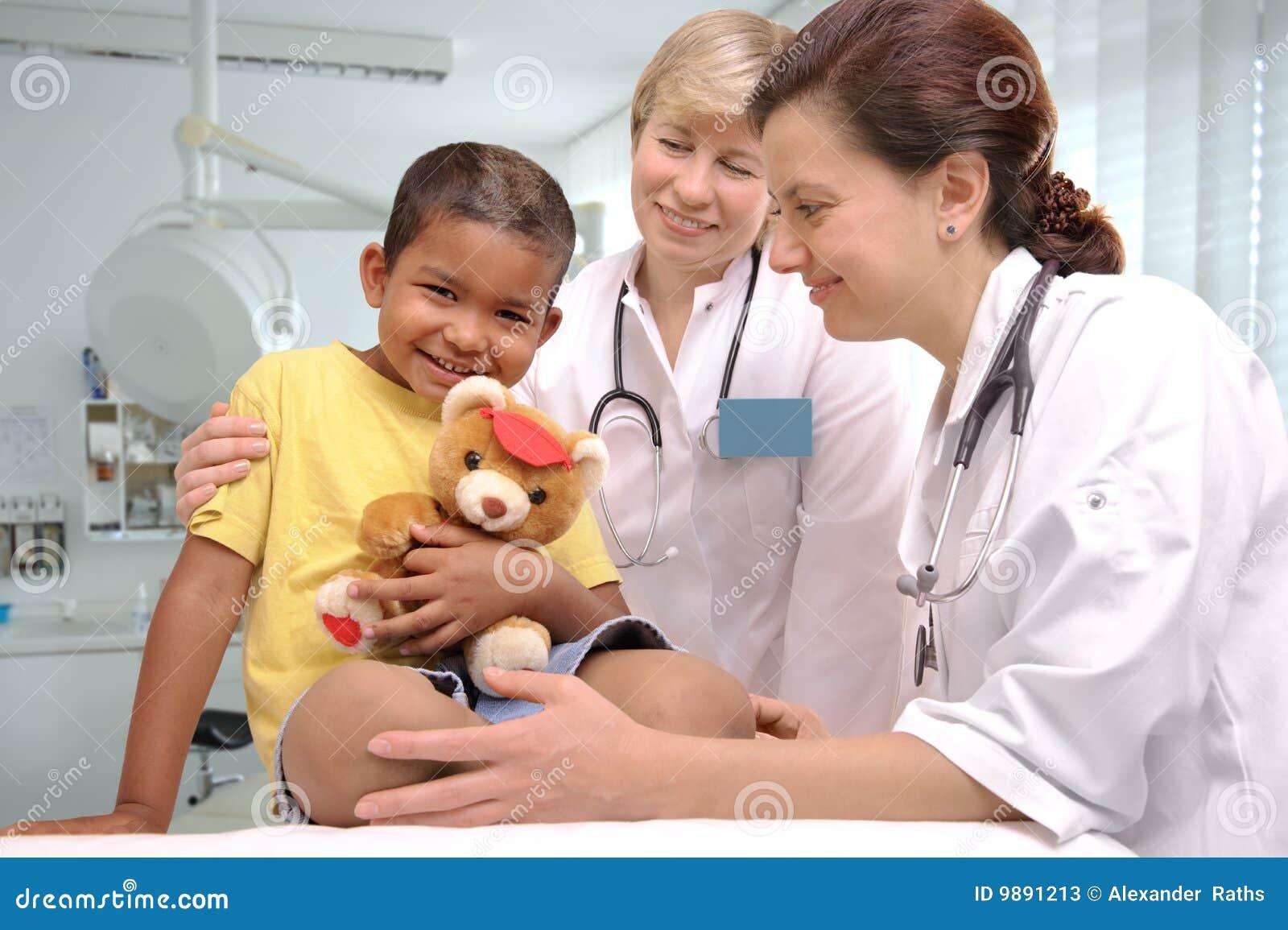 Doktoren der Kinder