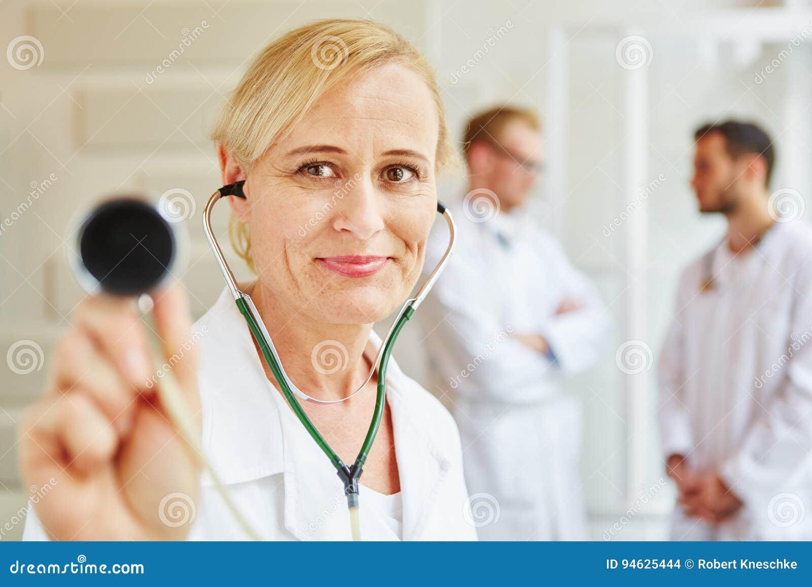 Doktorer på sjukhuset
