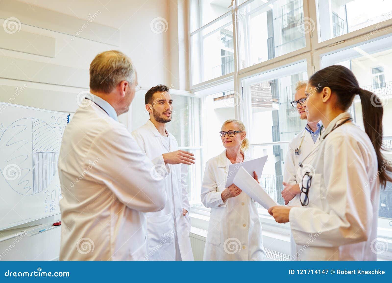 Doktorer under medicinsk utbildning