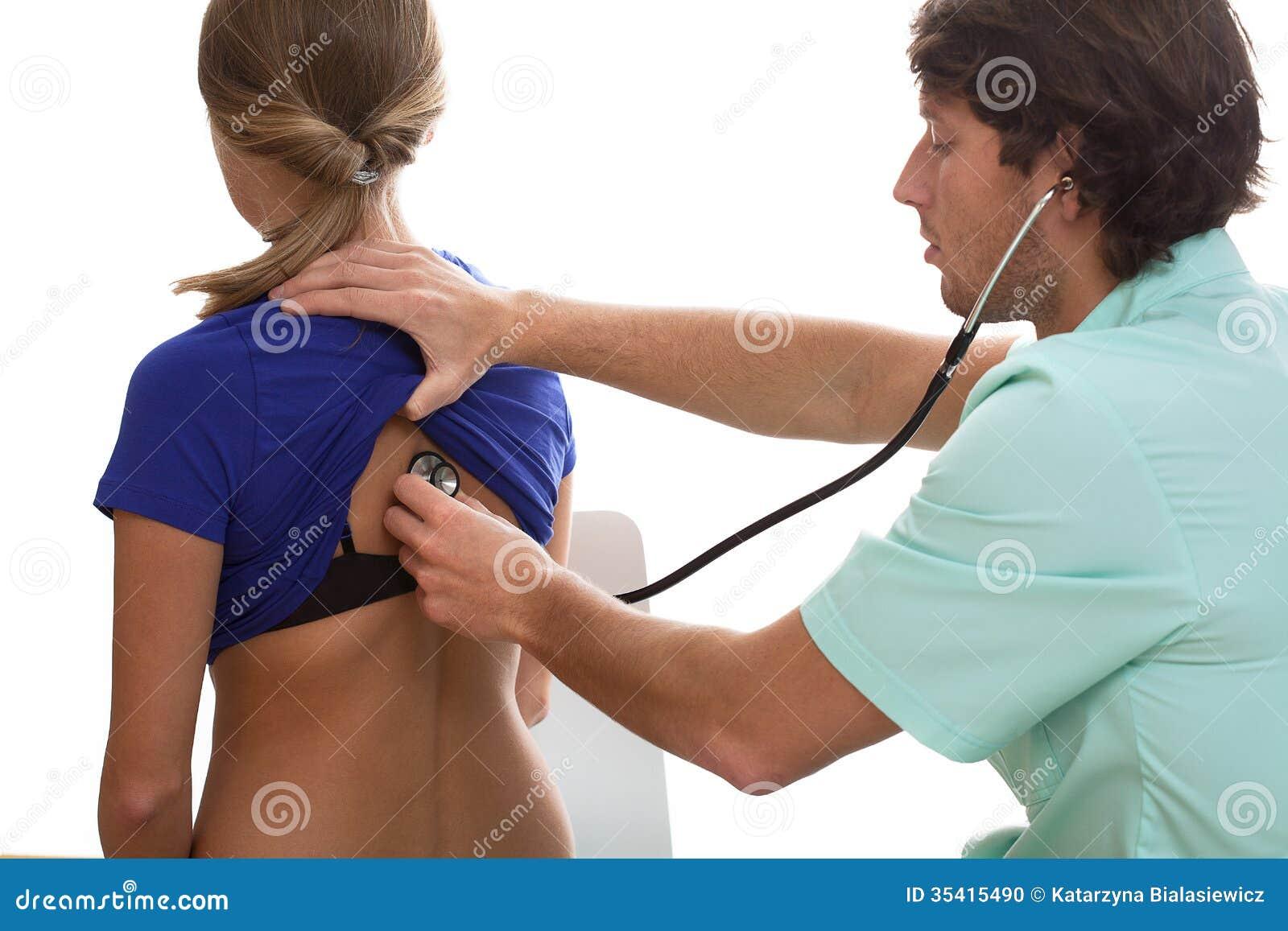 Doktorski opowiadać z pacjentem