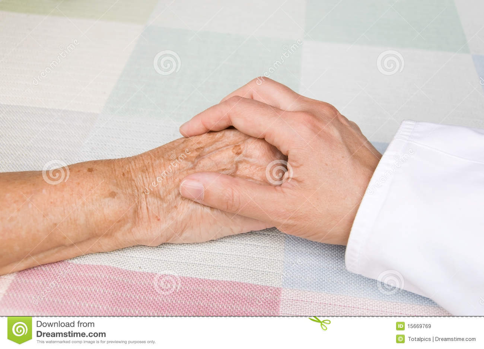 Doktorski starszy pacjent