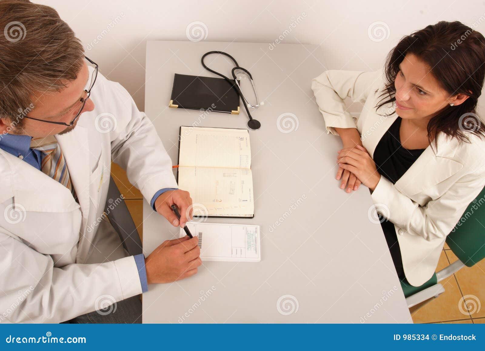 Doktorskontorstålmodig s