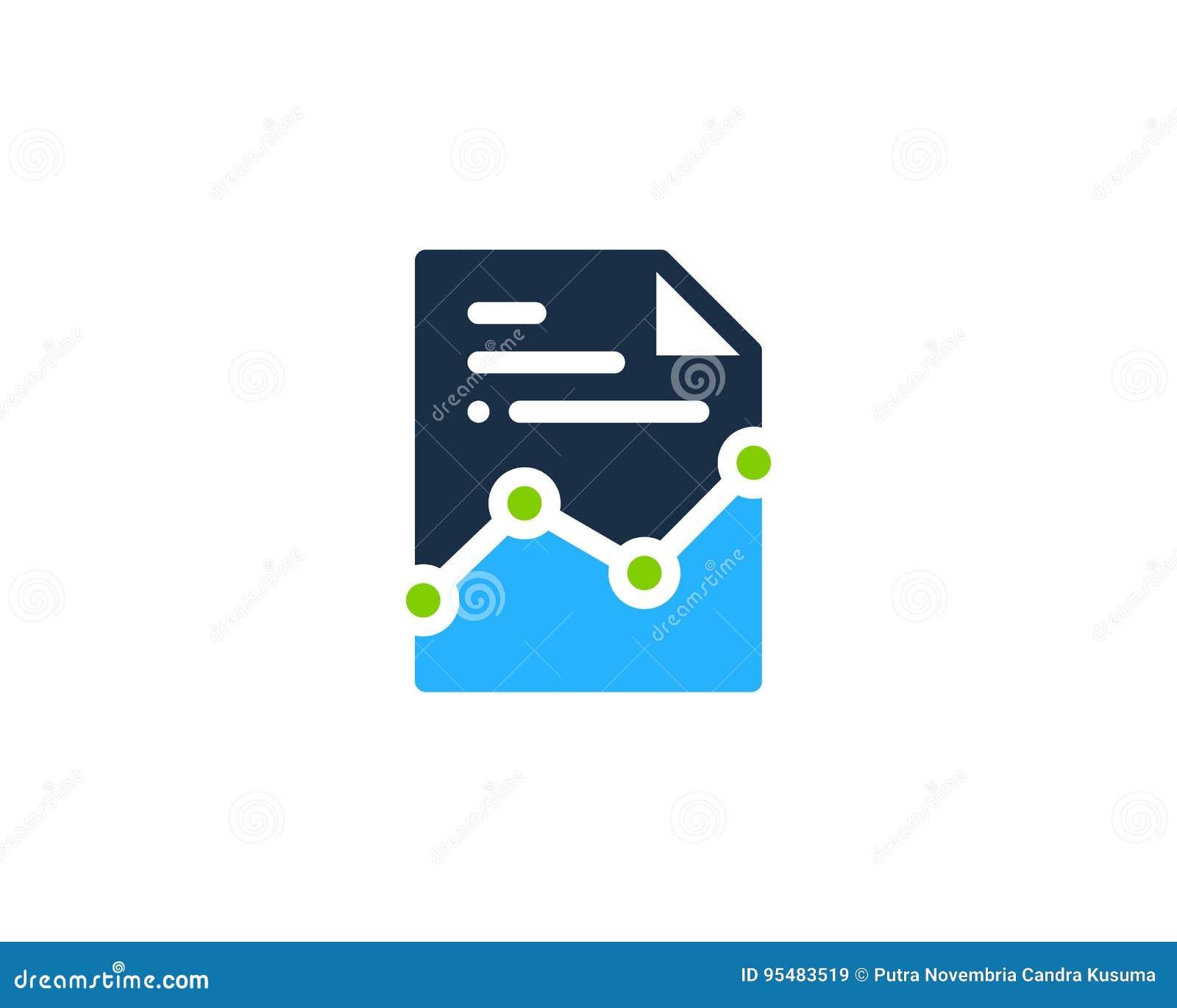 Dokument ikony loga projekta element