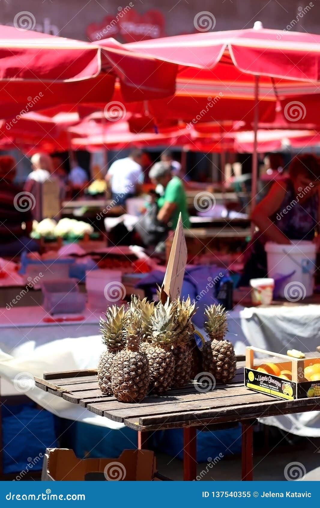 Dolac市场,萨格勒布,克罗地亚