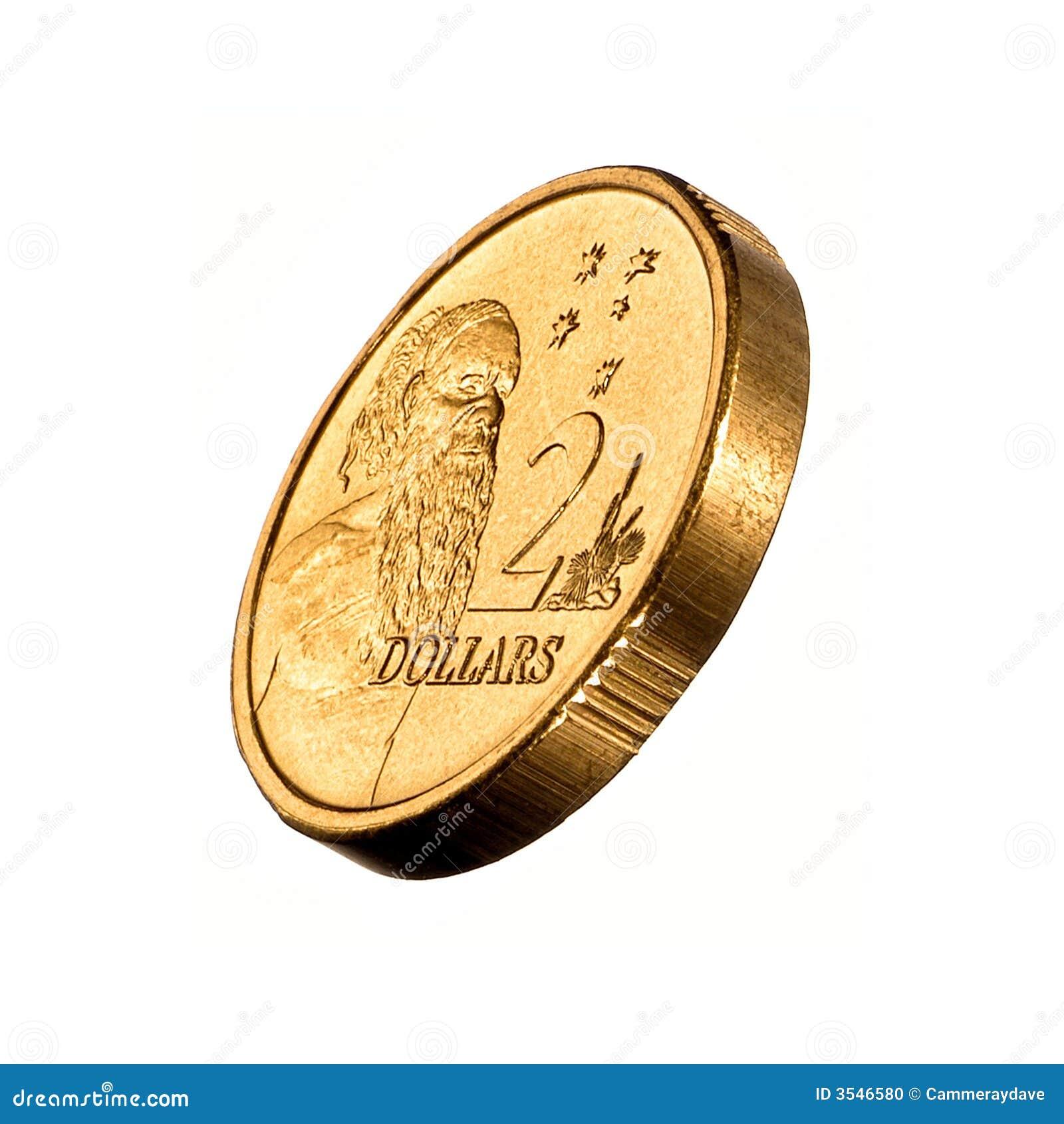 Dolar australijczyka monet pieniędzy 2