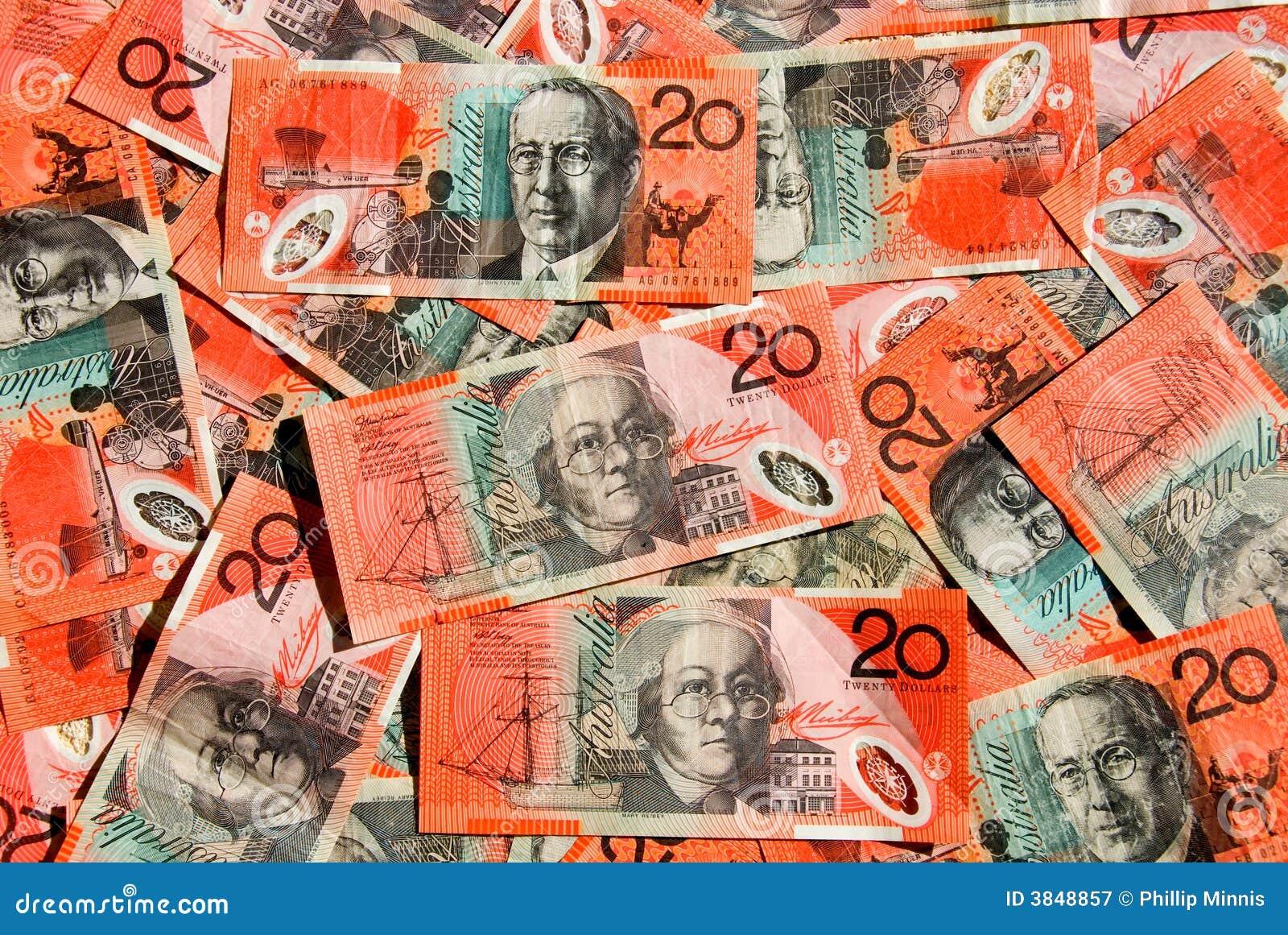 Dolar australijski 20,
