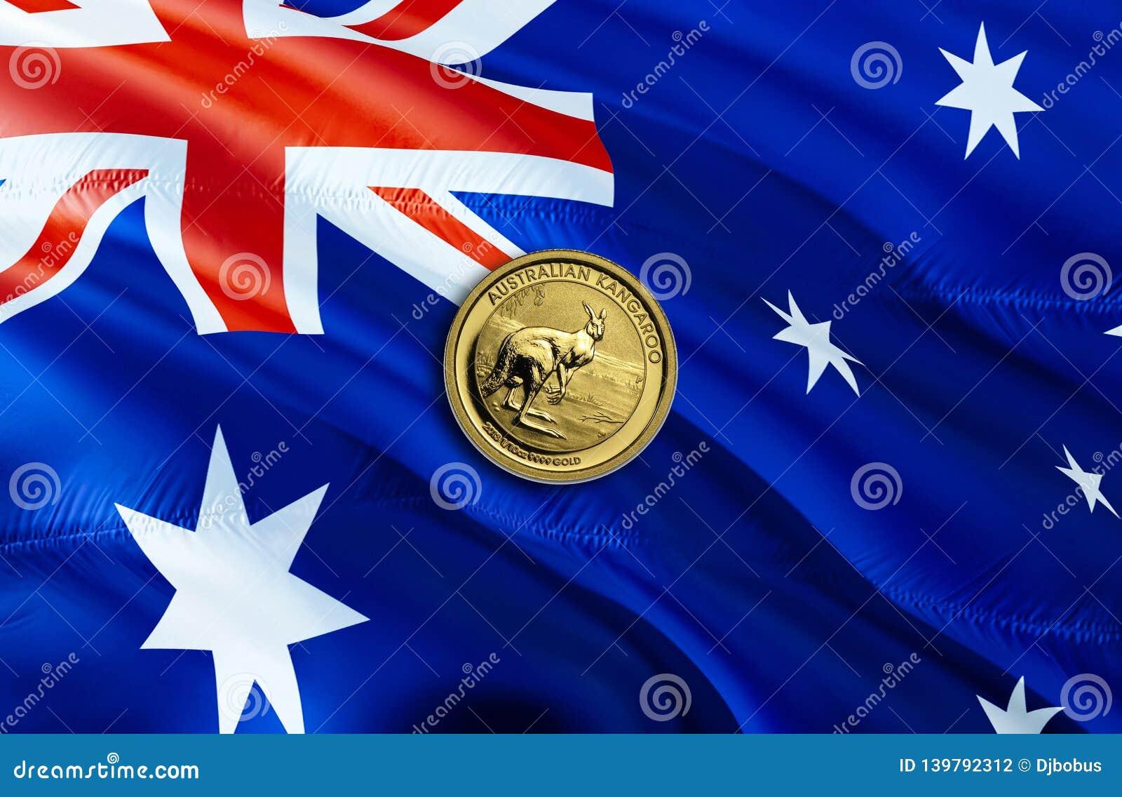Dolar Australijski gospodarka dla biznesowej i pieniężnej pojęcie pomysłów ilustracji, tło Pojęcie z pieniądze dolarem australijs