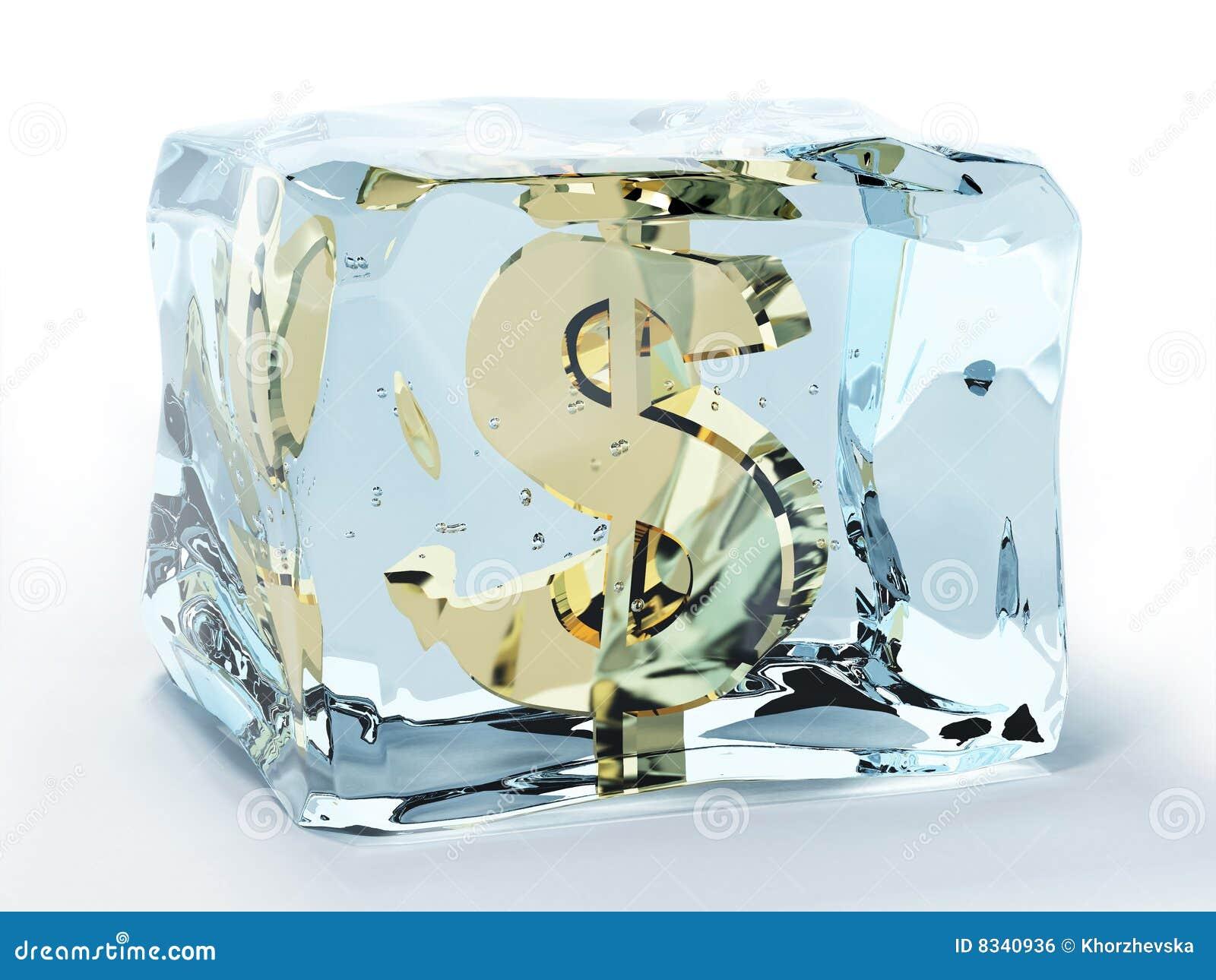 Dolar marznący lód