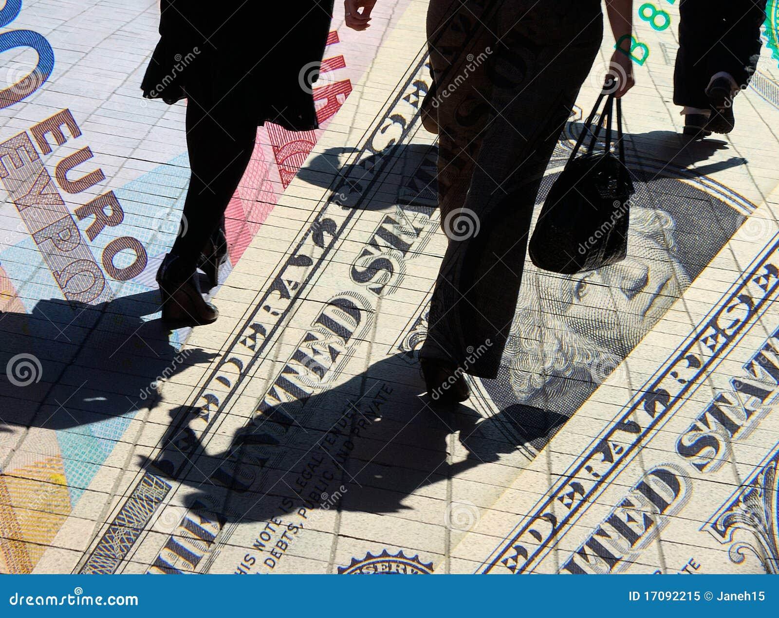 Dolarowi euro kupujący
