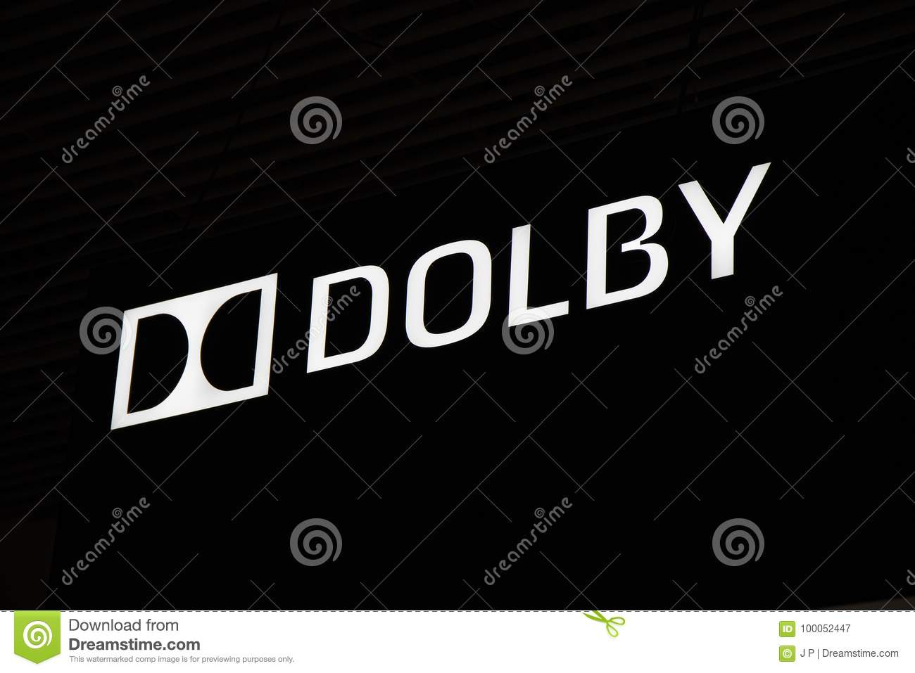Dolby logo and letters