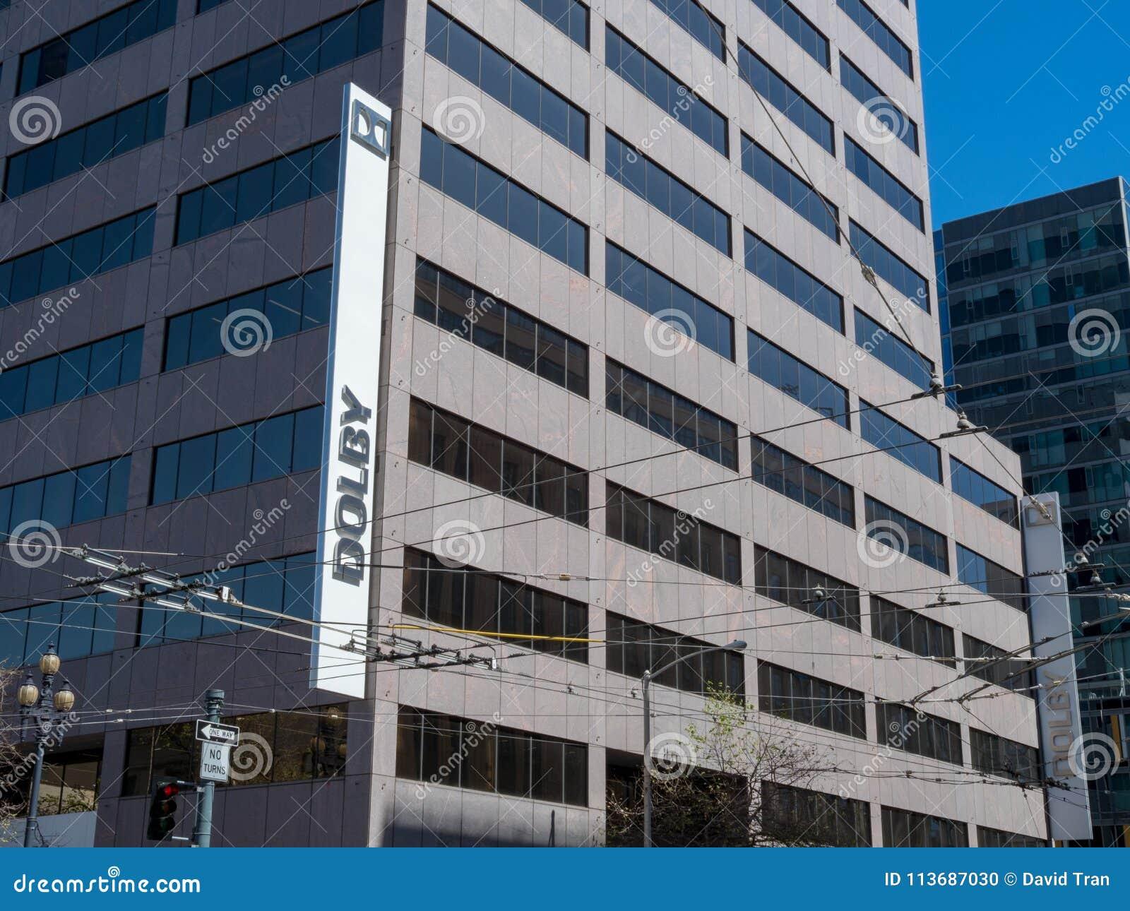 Dolby lokuje budynek w w centrum San Fransisco