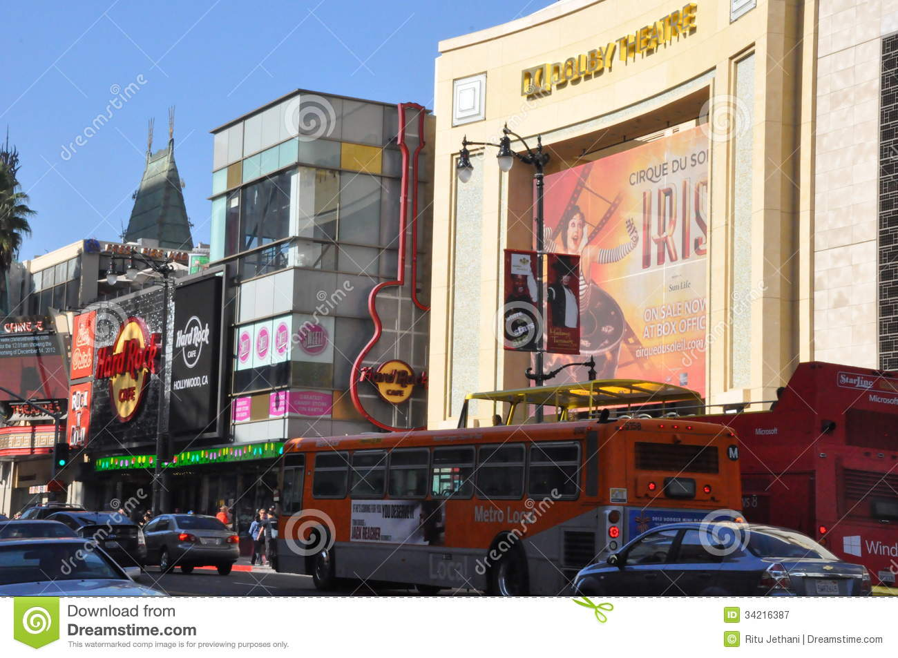 Hollywood california december dolby theatre kodak theatre is home