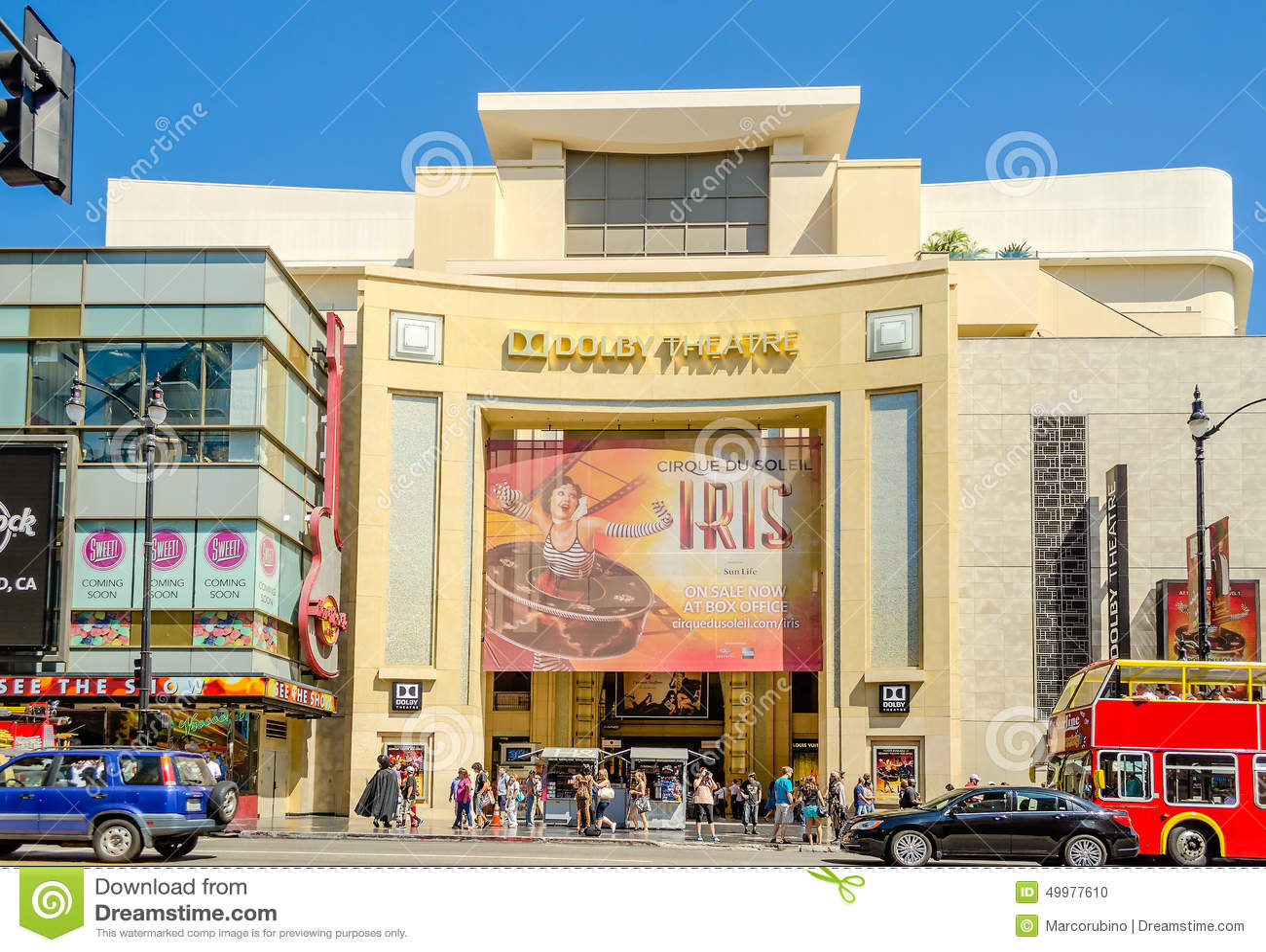 Dolby Theatre w Hollywood bulwarze, Los Angeles