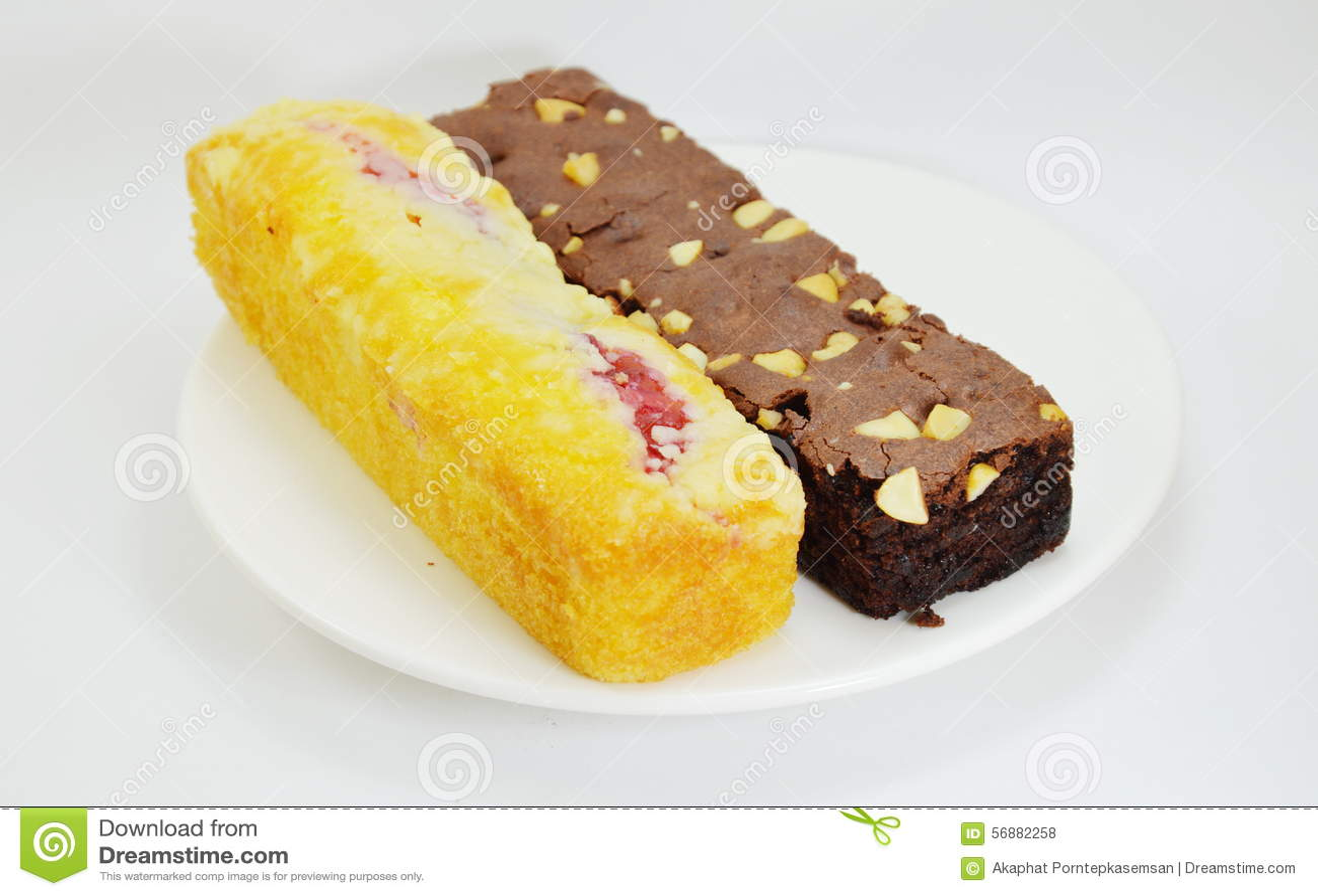 Dolce di Chocolateb e dolce del mirtillo