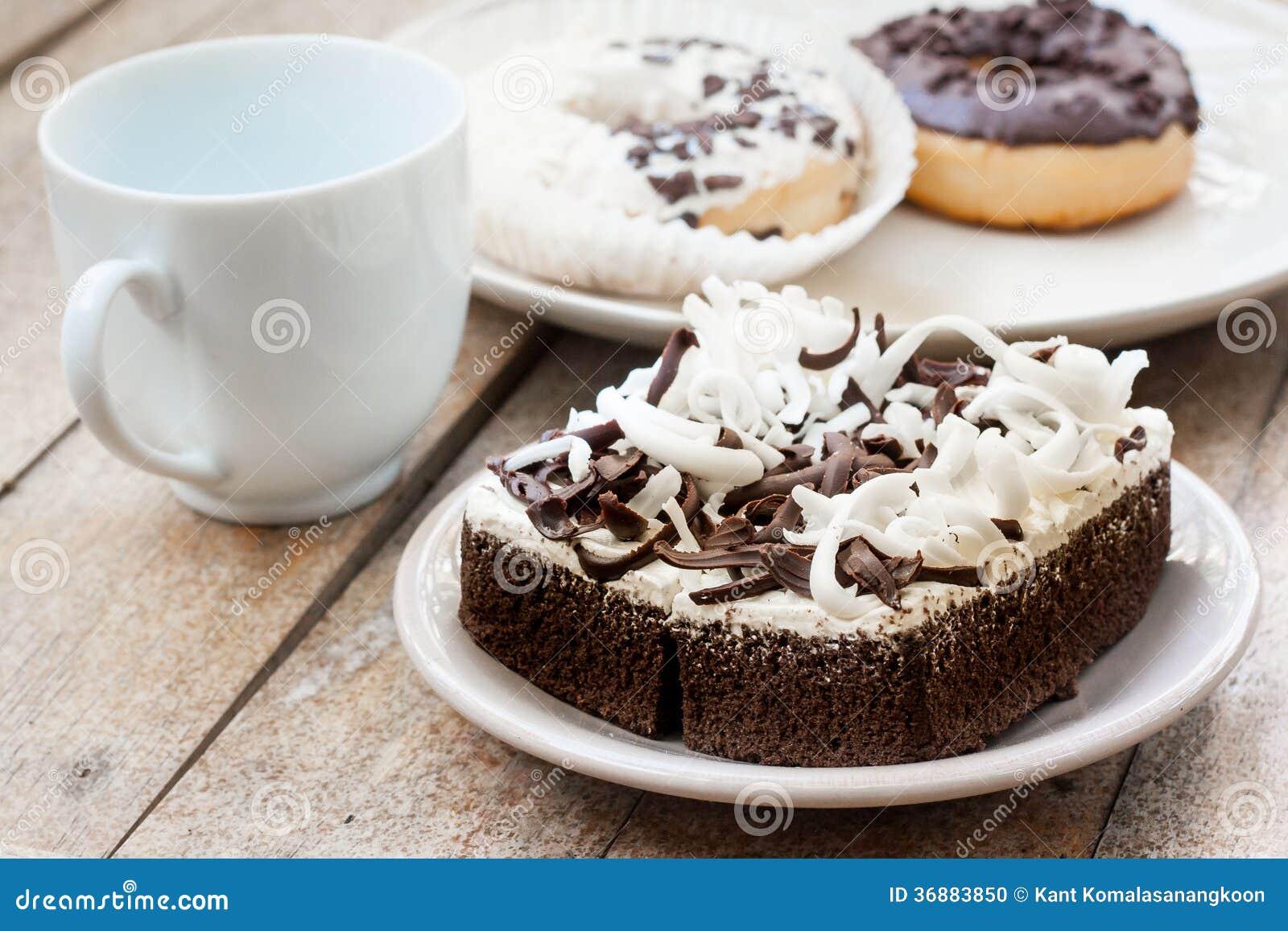 Download Dolce di cioccolato fotografia stock. Immagine di alimento - 36883850