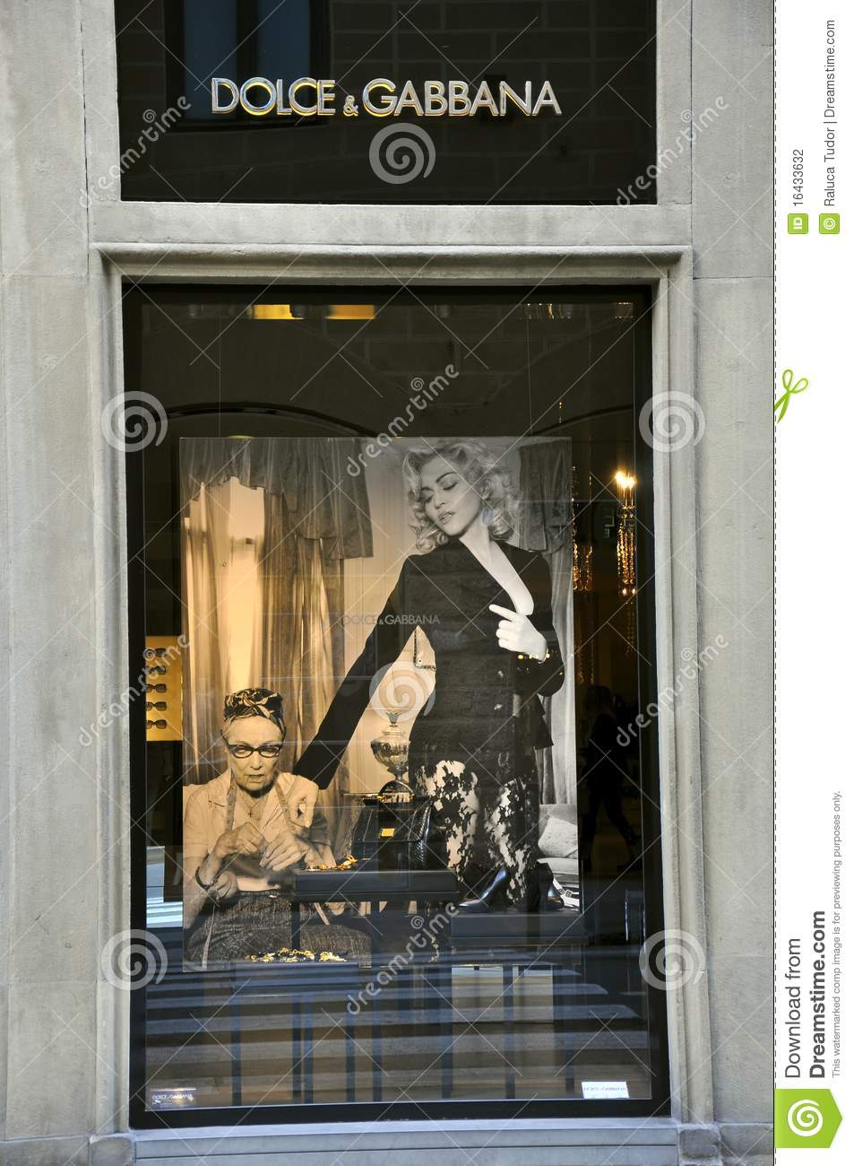 dolce and gabbana luxury fashion store editorial. Black Bedroom Furniture Sets. Home Design Ideas