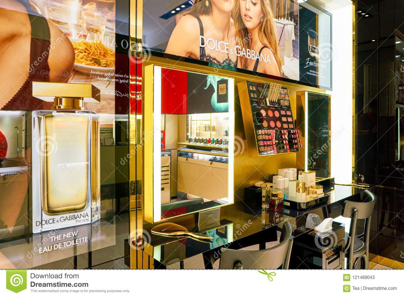 Dolce & Gabbana editorial stock photo  Image of sell - 121469043