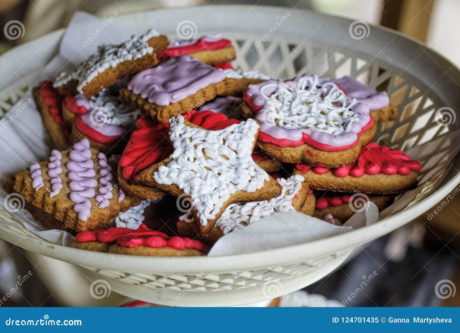 Natale Dolci o cottura di Natale con i simboli americani Festa  dell\u0027indipendenza degli Stati Uniti, festa del lavoro U.S.A.