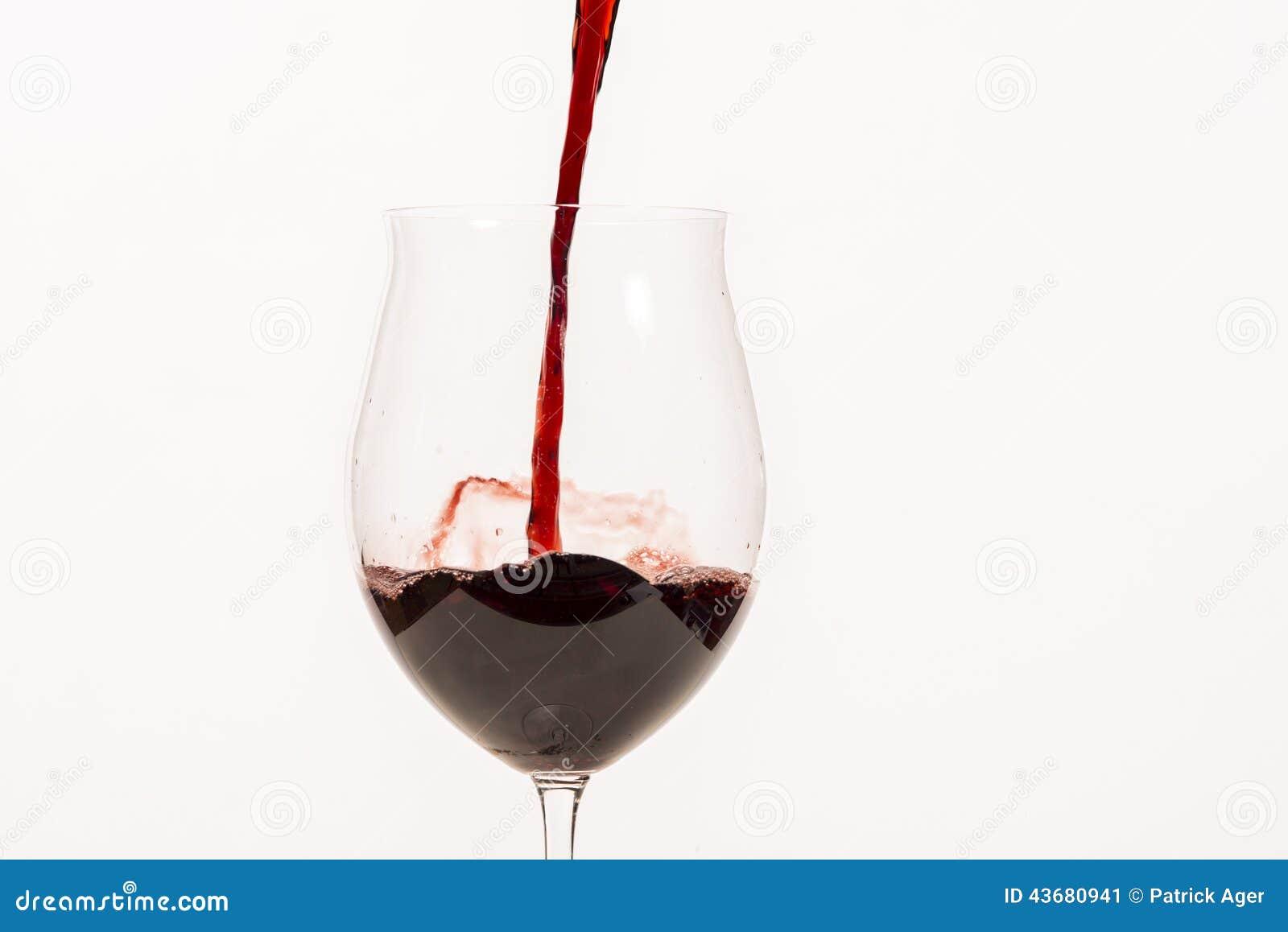 Dolewania szklany wino