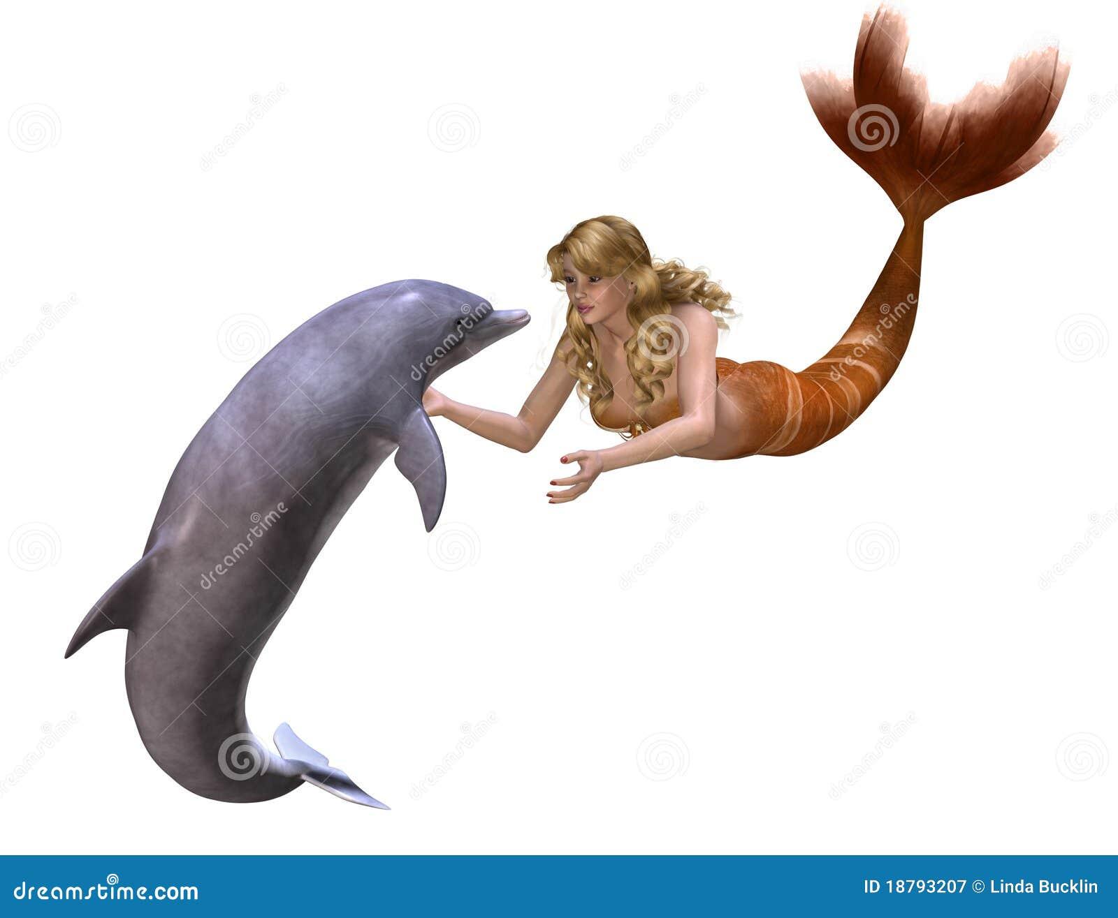 Dolfijn en Meermin