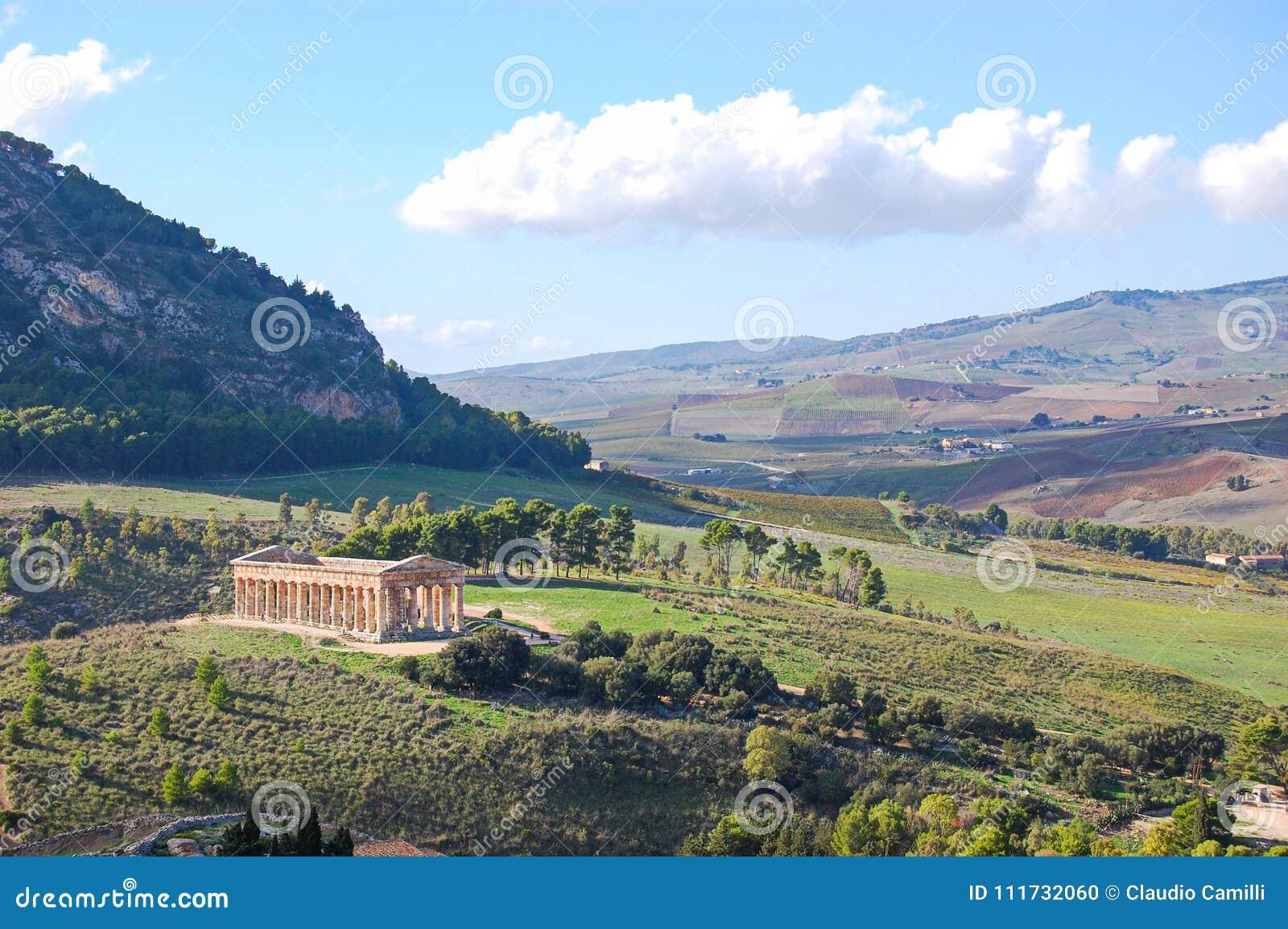 Dolina świątynie Agrigento