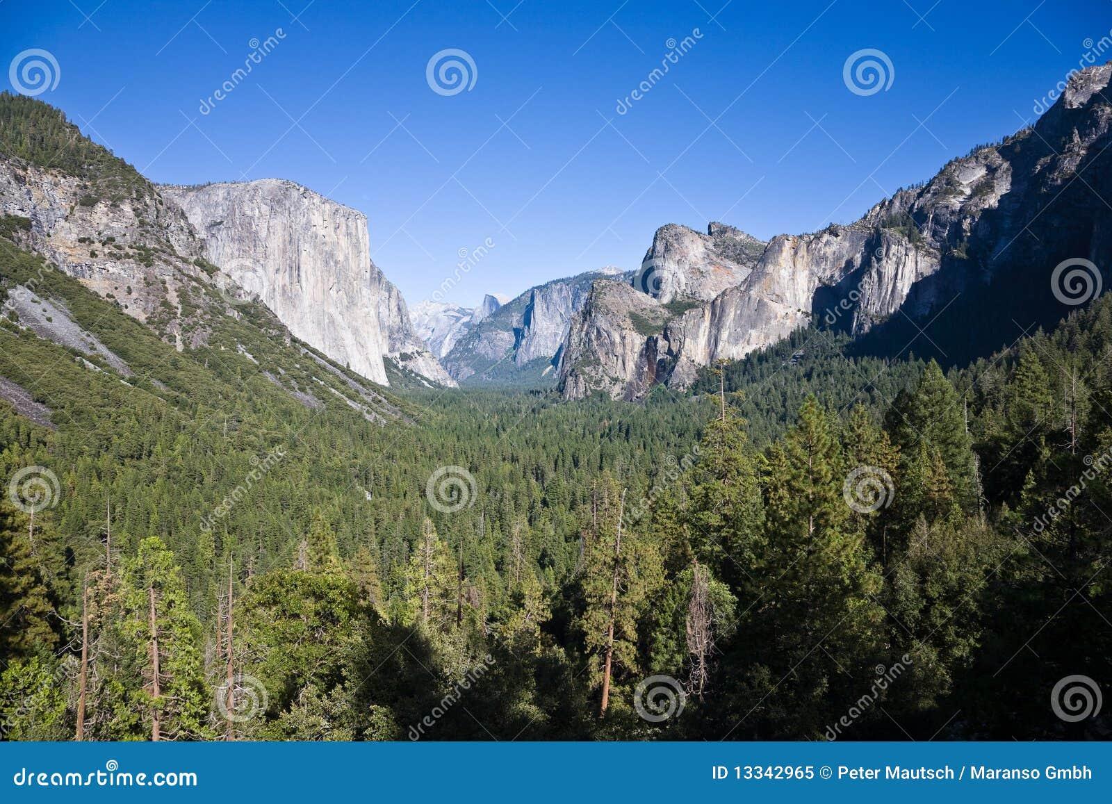 Dolinny Yosemite