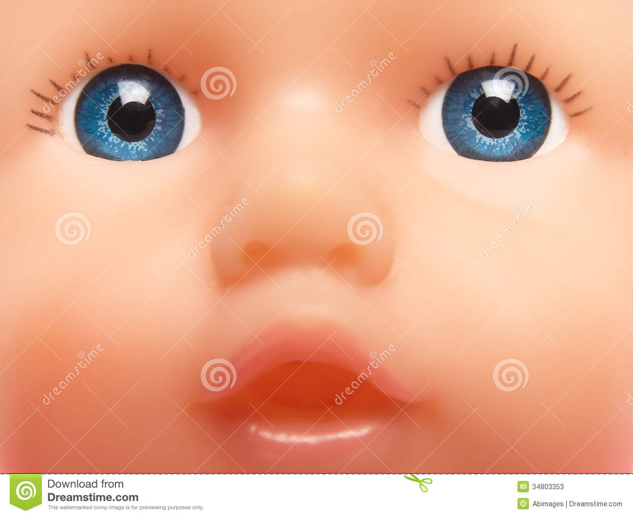 how to make a doll face