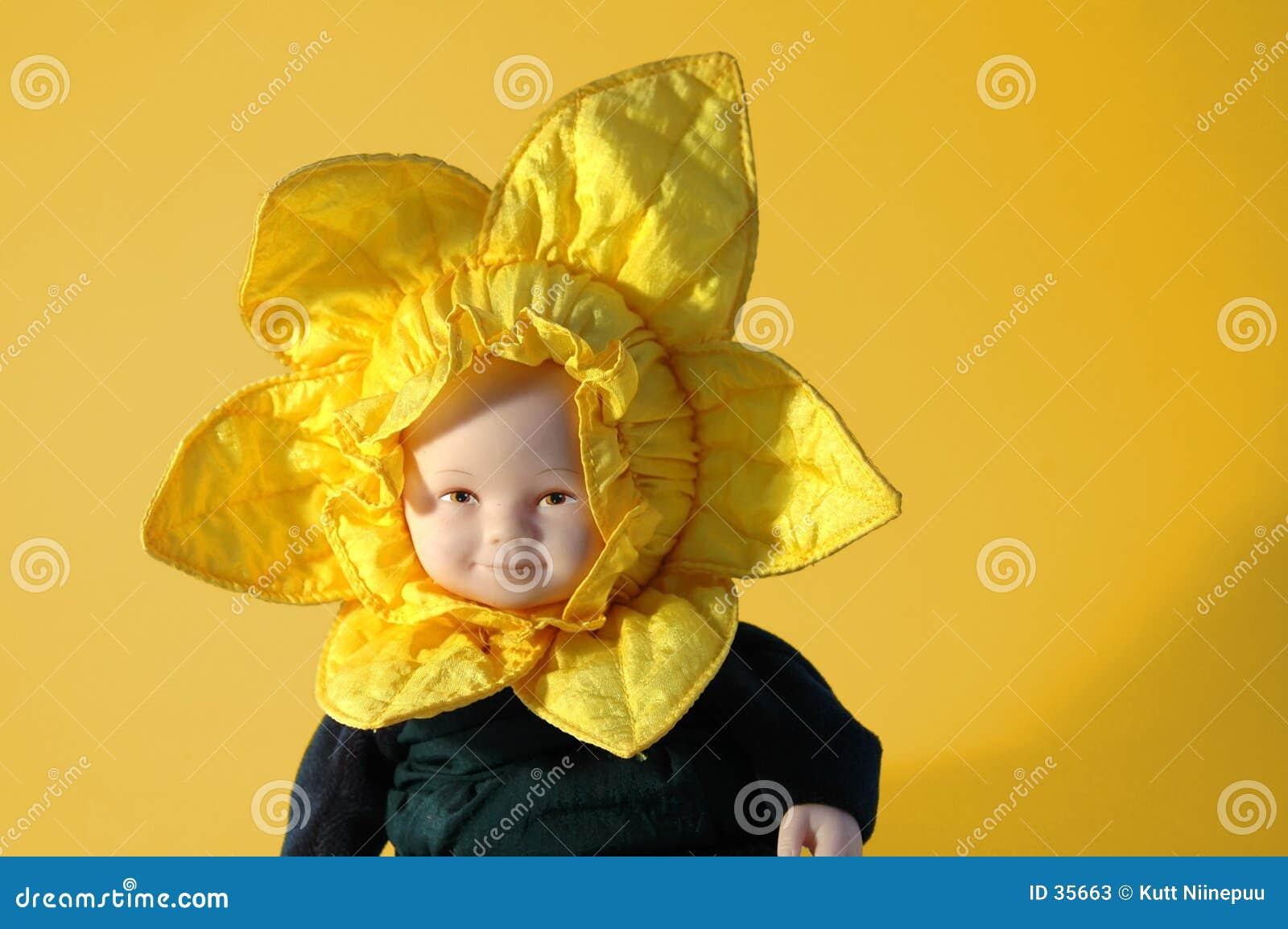 Doll van de zonnebloem