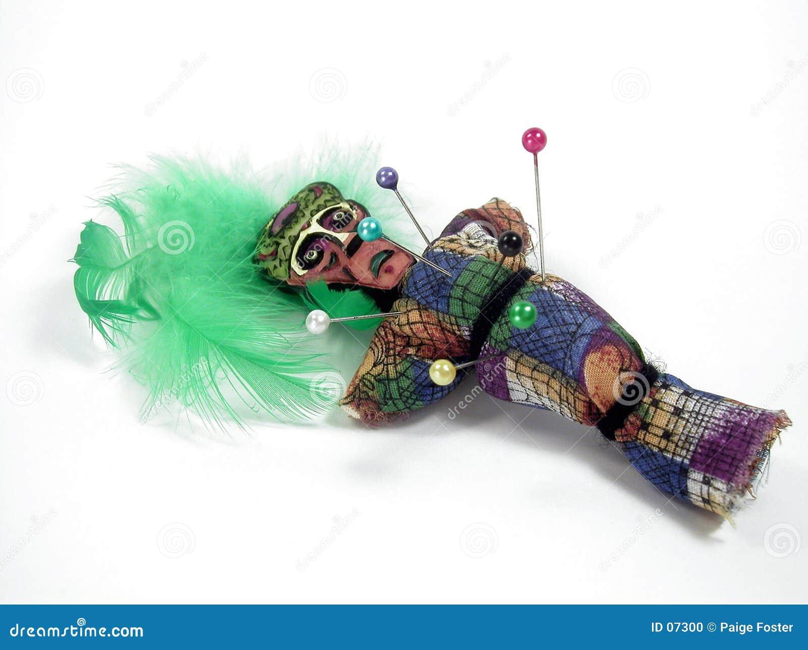 Doll van het voodoo