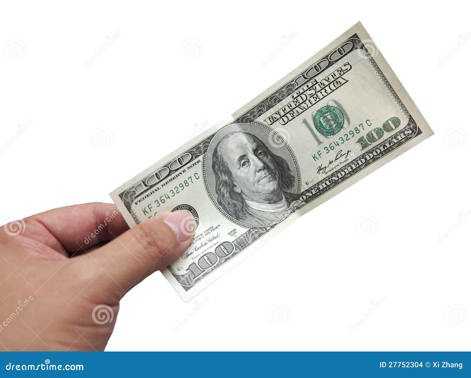 Dollar à disposition