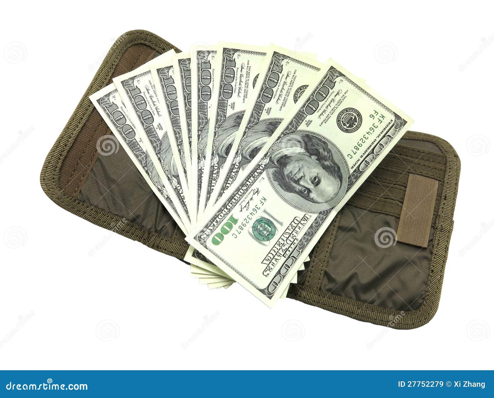 Dollar avec la pochette
