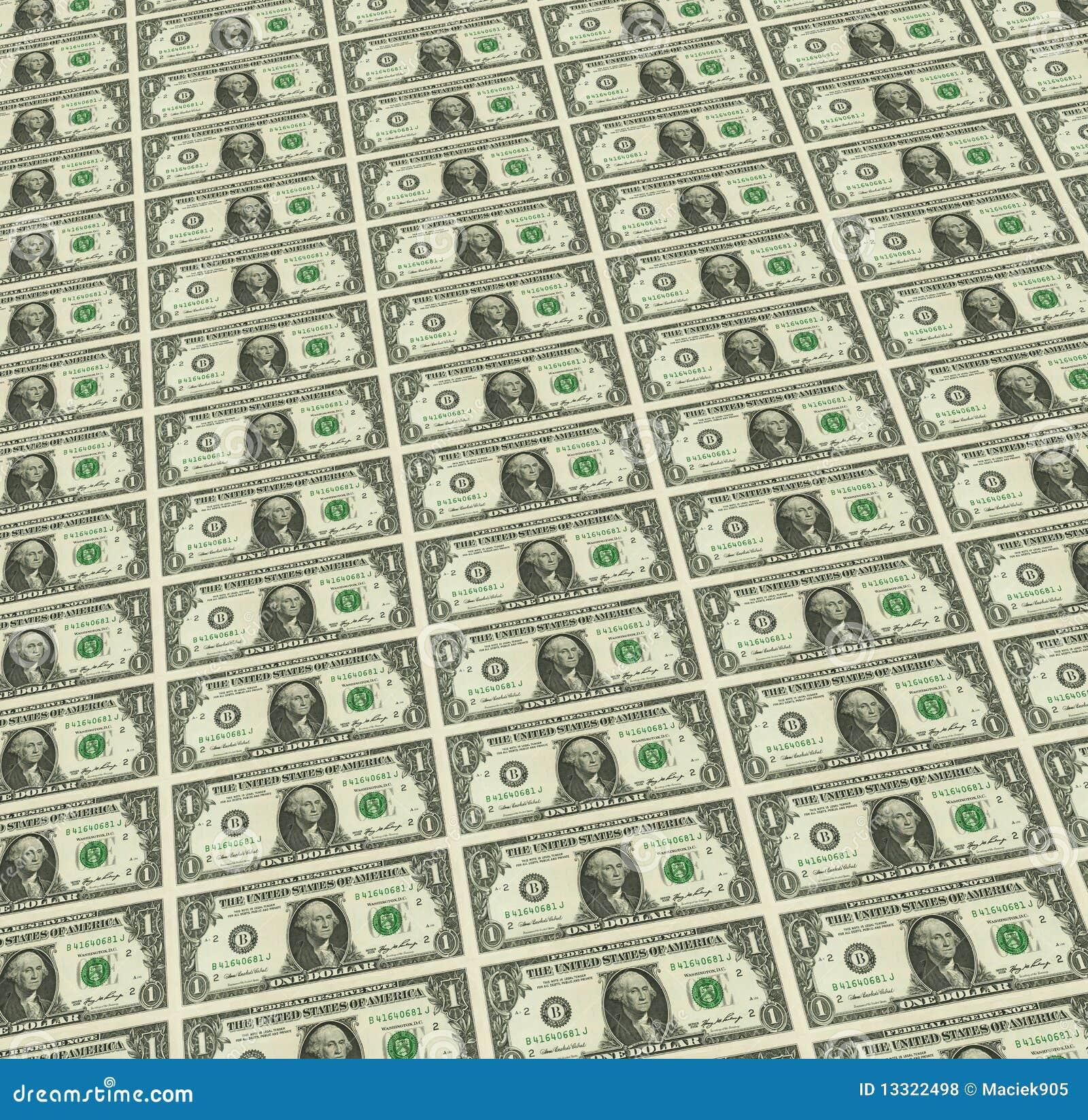 Dollar bank notes