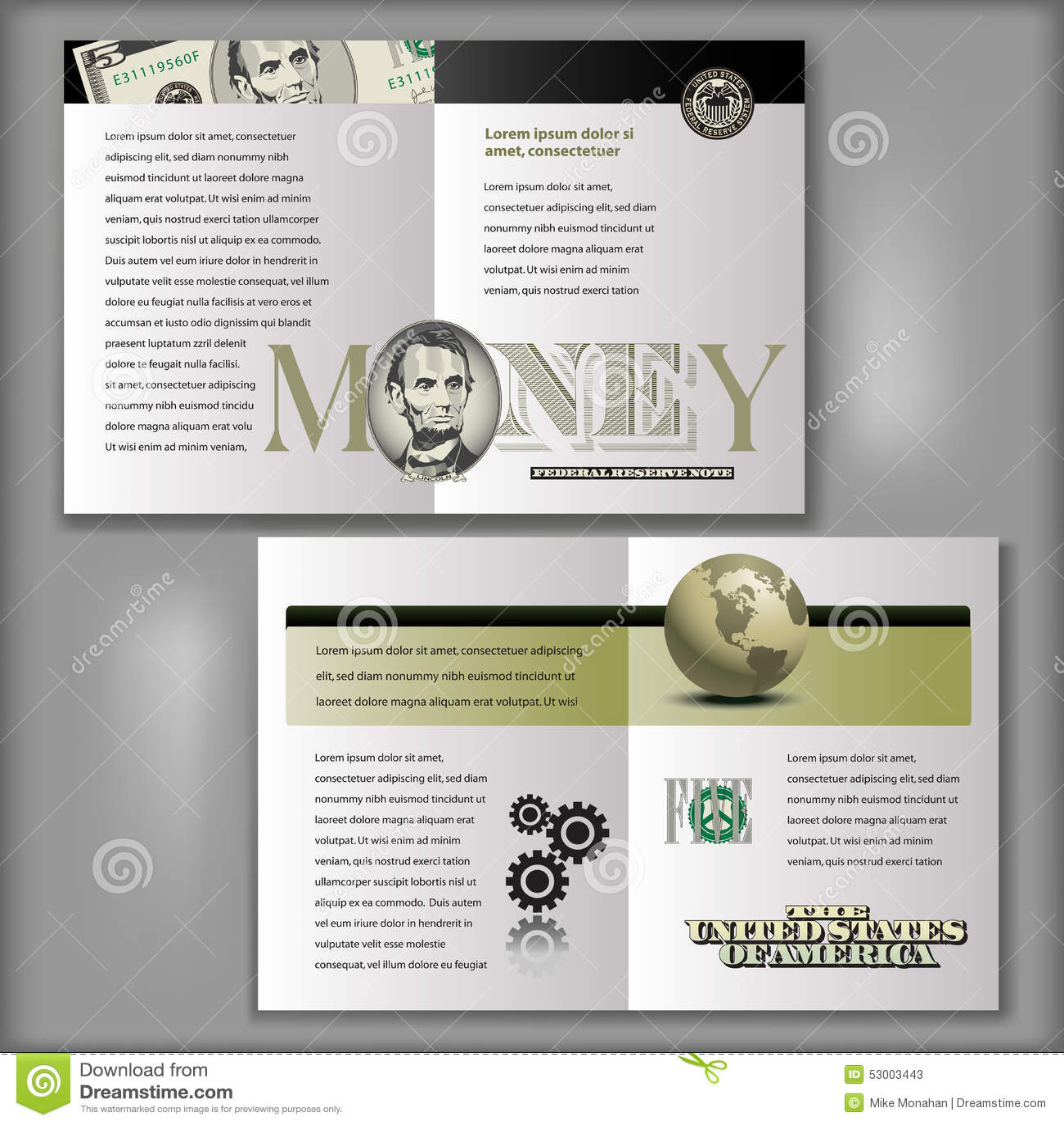 4 page brochure template - fingradio.tk