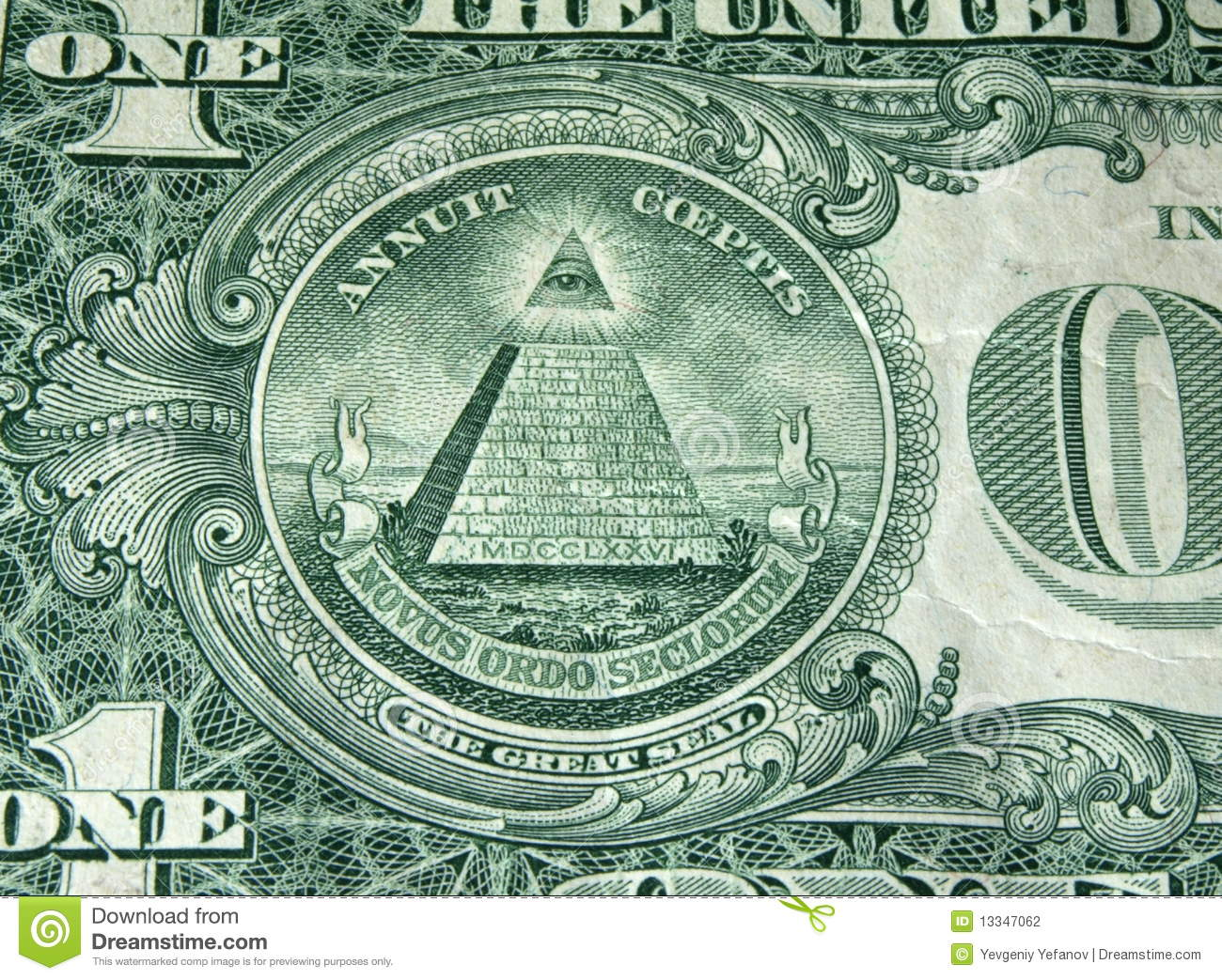 Dollar bill pyramid stock photo image of freemasonry 13347062 dollar bill pyramid biocorpaavc Images