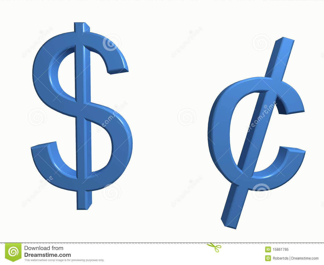 Dollar and cent symbols stock photo image of currency 27430324 dollar and cent royalty free stock photo buycottarizona Gallery