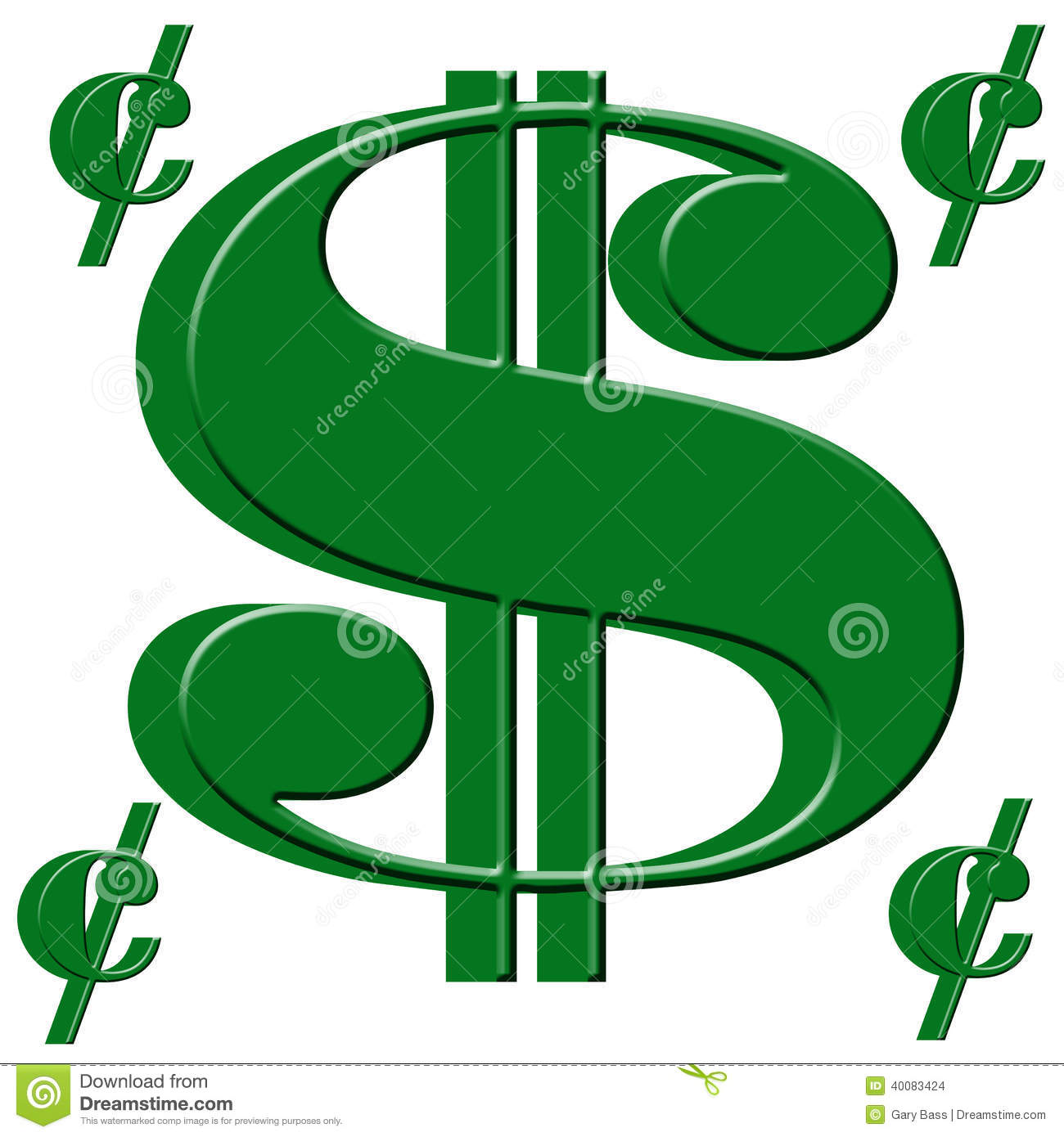 Dollar and cent sign stock illustration illustration of currency dollar and cent sign buycottarizona Gallery