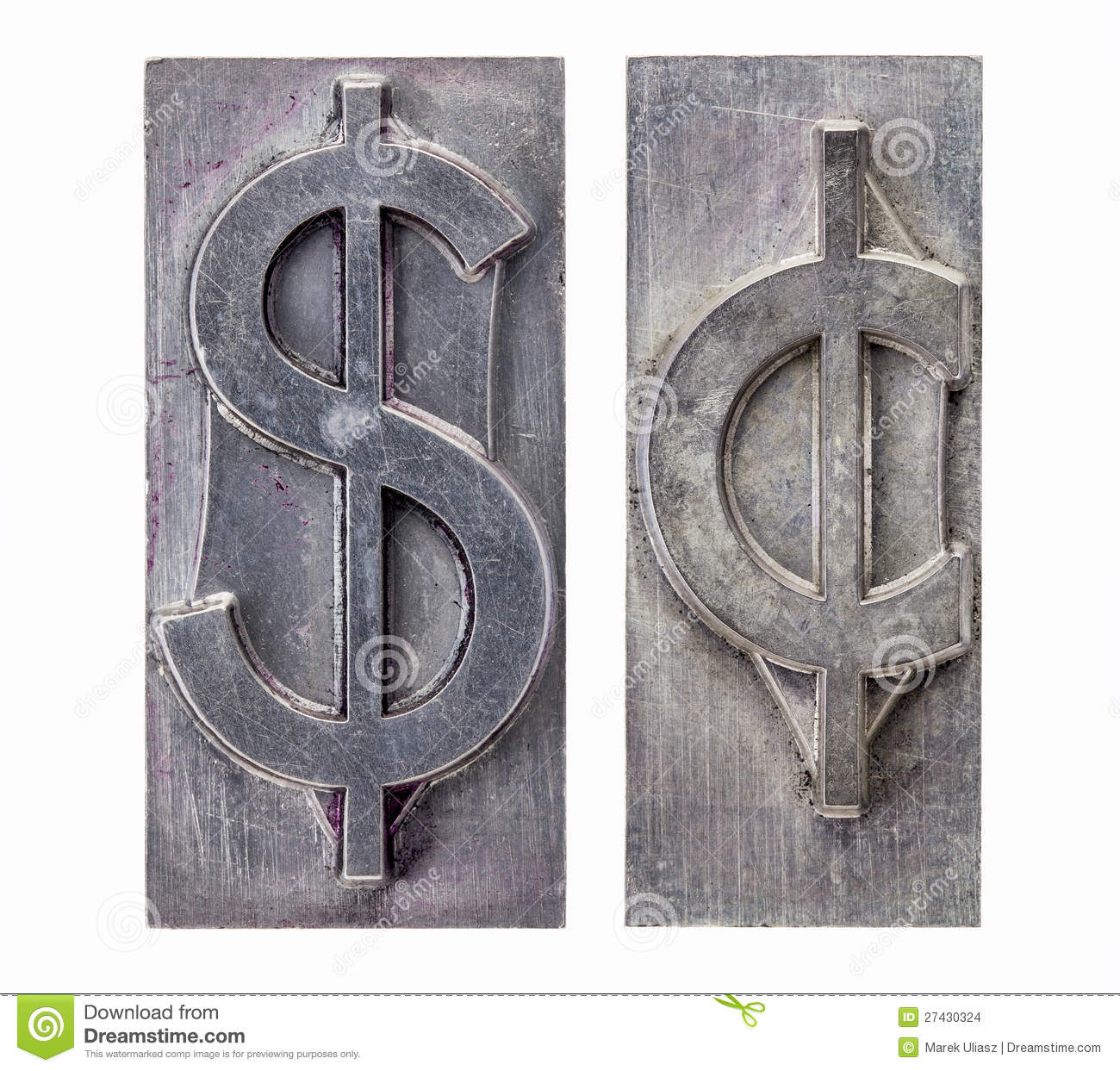 Dollar and cent symbols stock photo image of currency 27430324 dollar and cent symbols buycottarizona Gallery