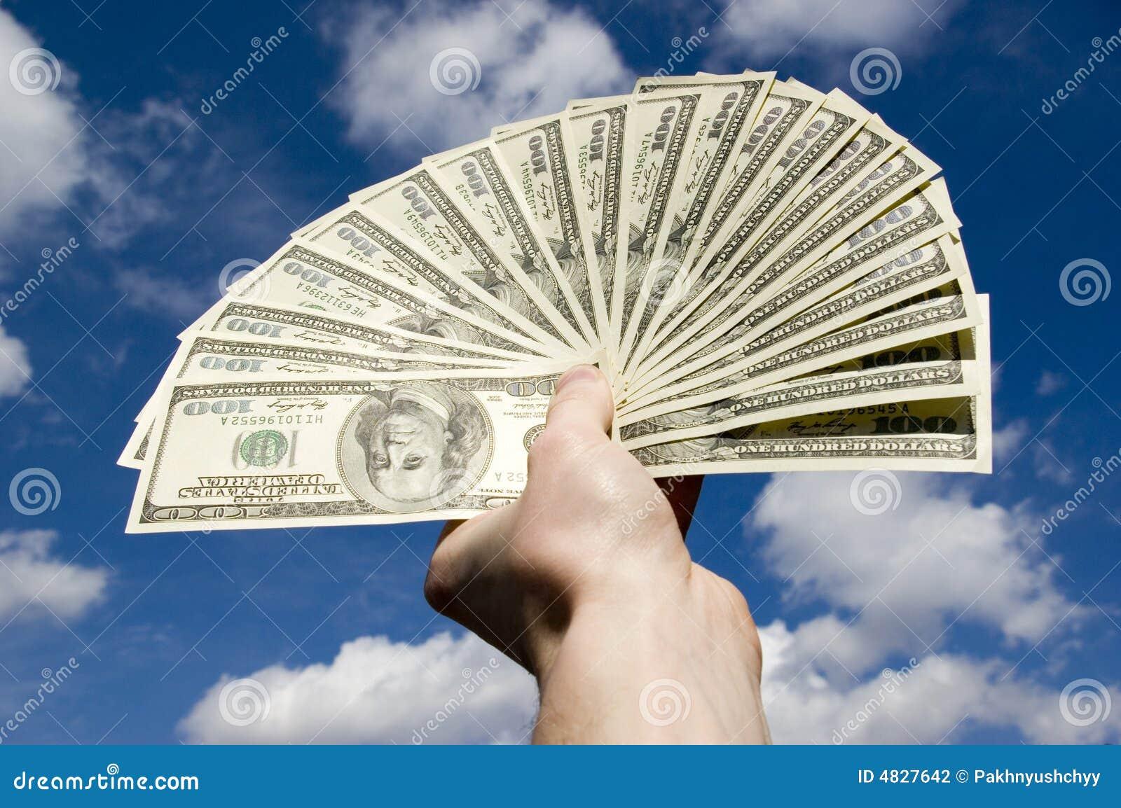 Dollar in der Hand