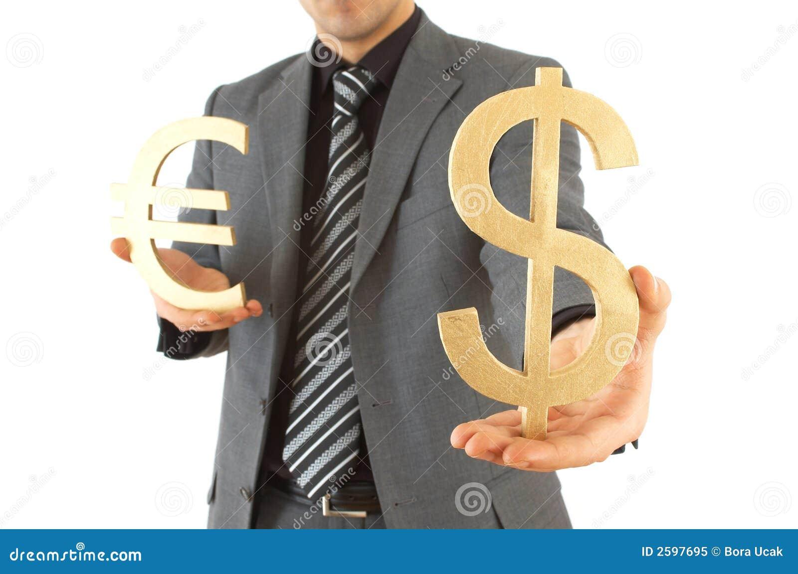 Dollar of euro