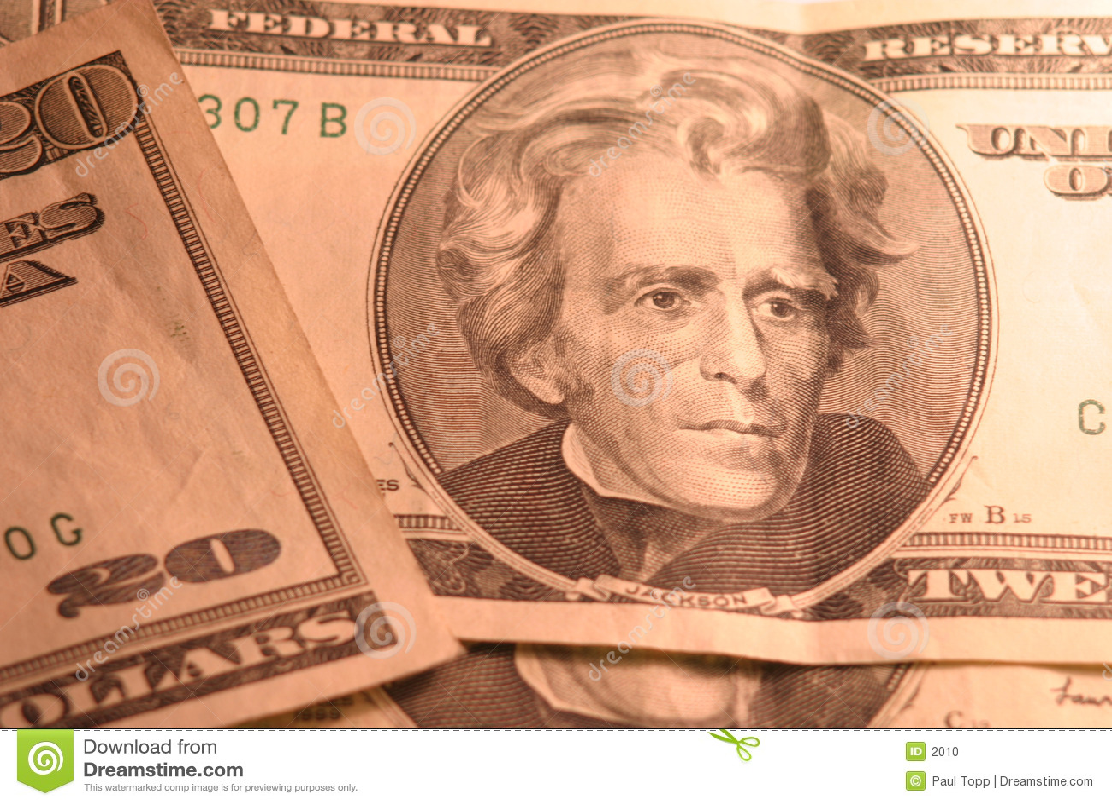 Dollar för 20 bills