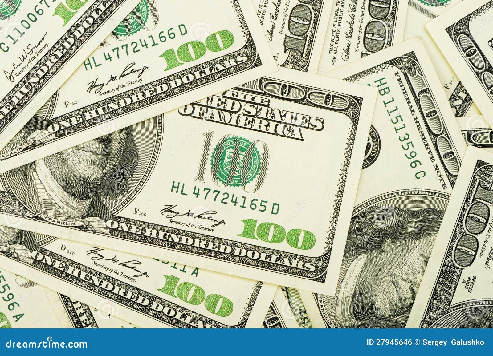 Dollar för en radda