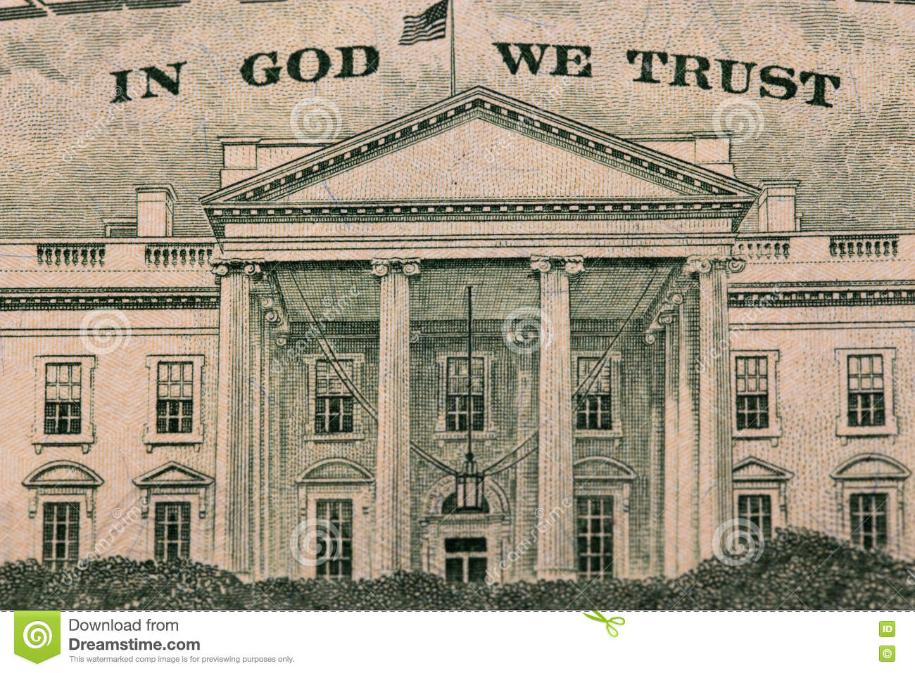 Dollar in God we trust