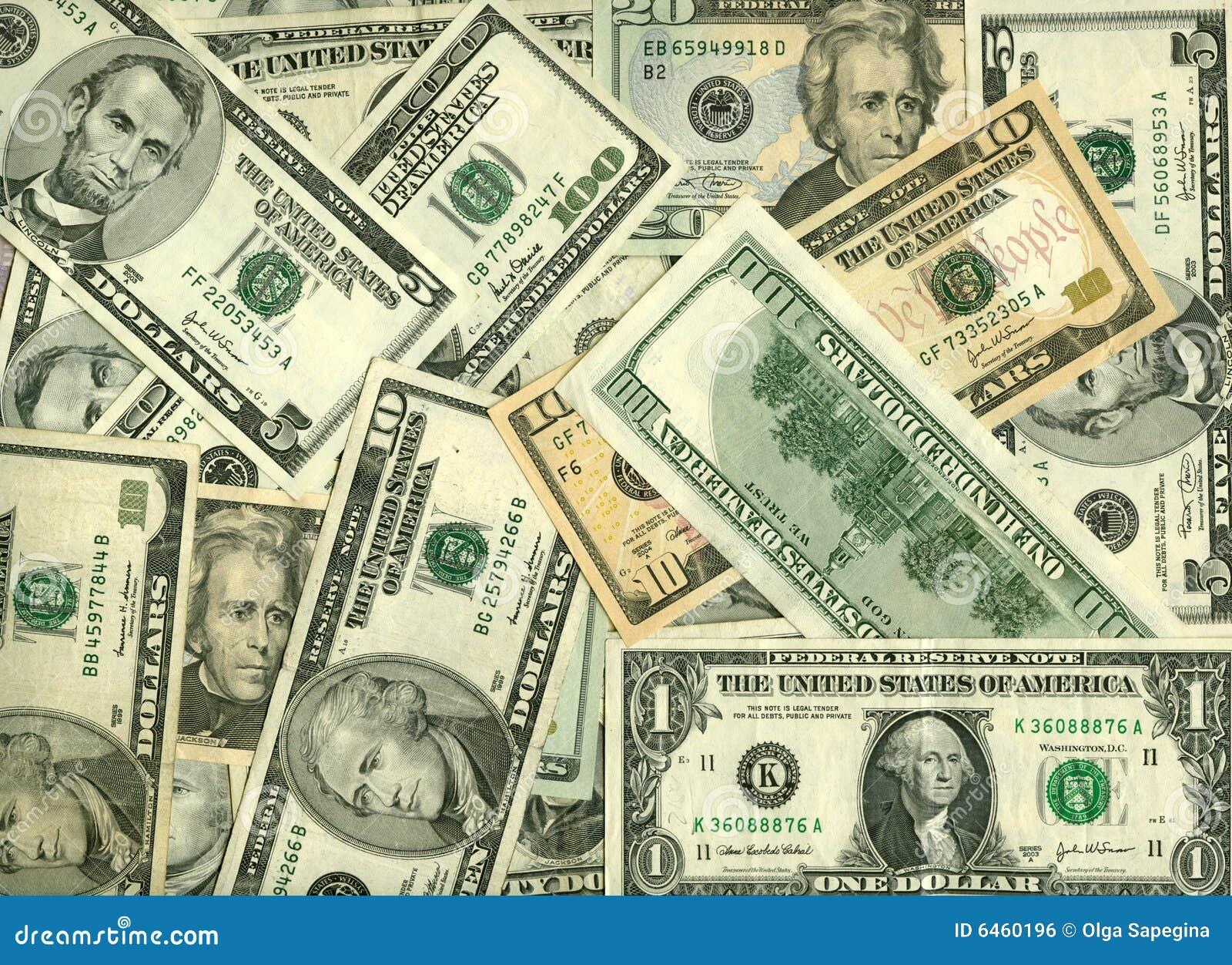 Dollar Hintergrund